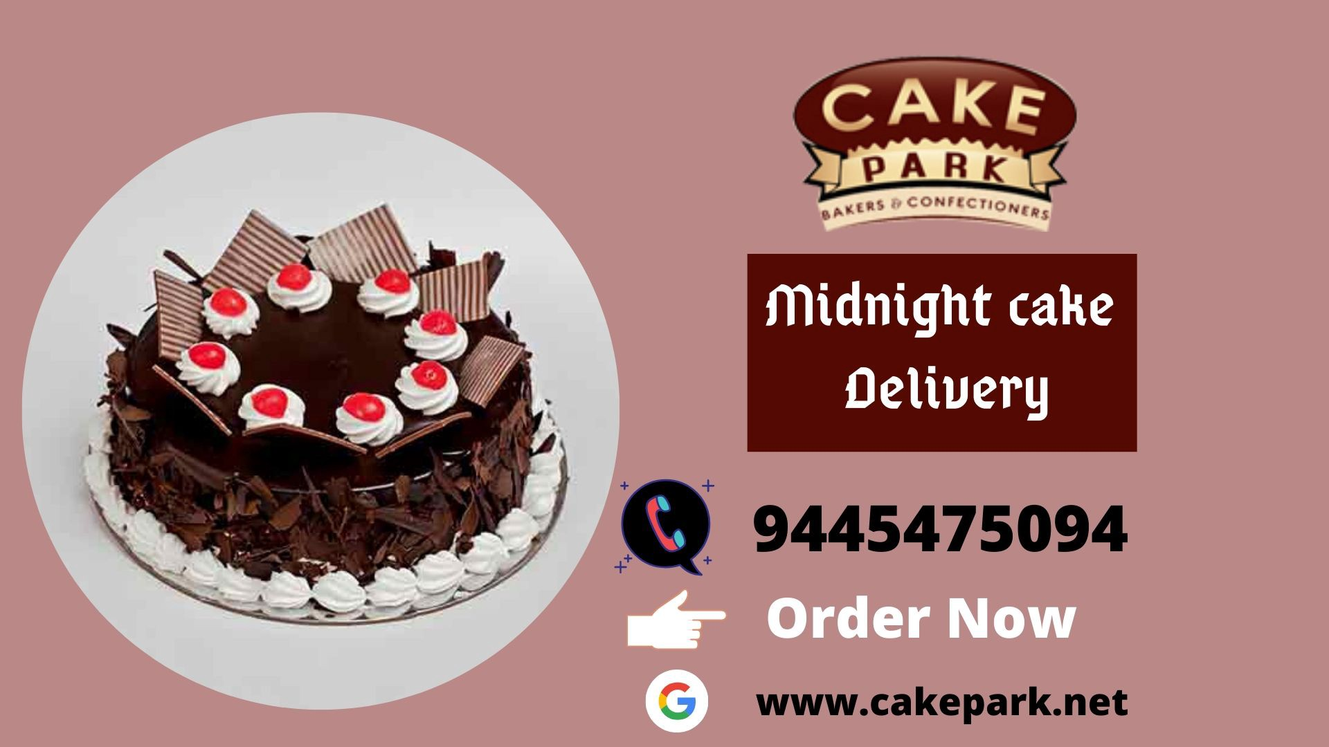 Midnight Cake Delivery Shops In Chennai At Low Cost By Cake Park Medium