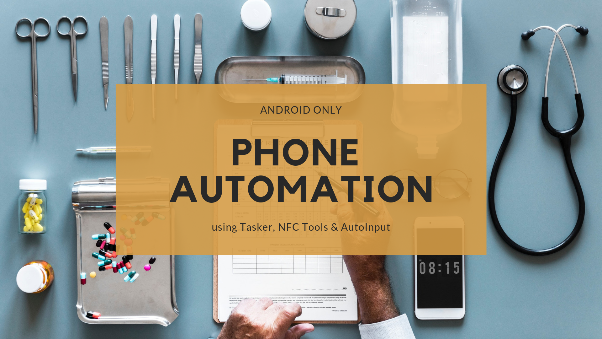 Phone automation — Automate Whatsapp messages with NFC
