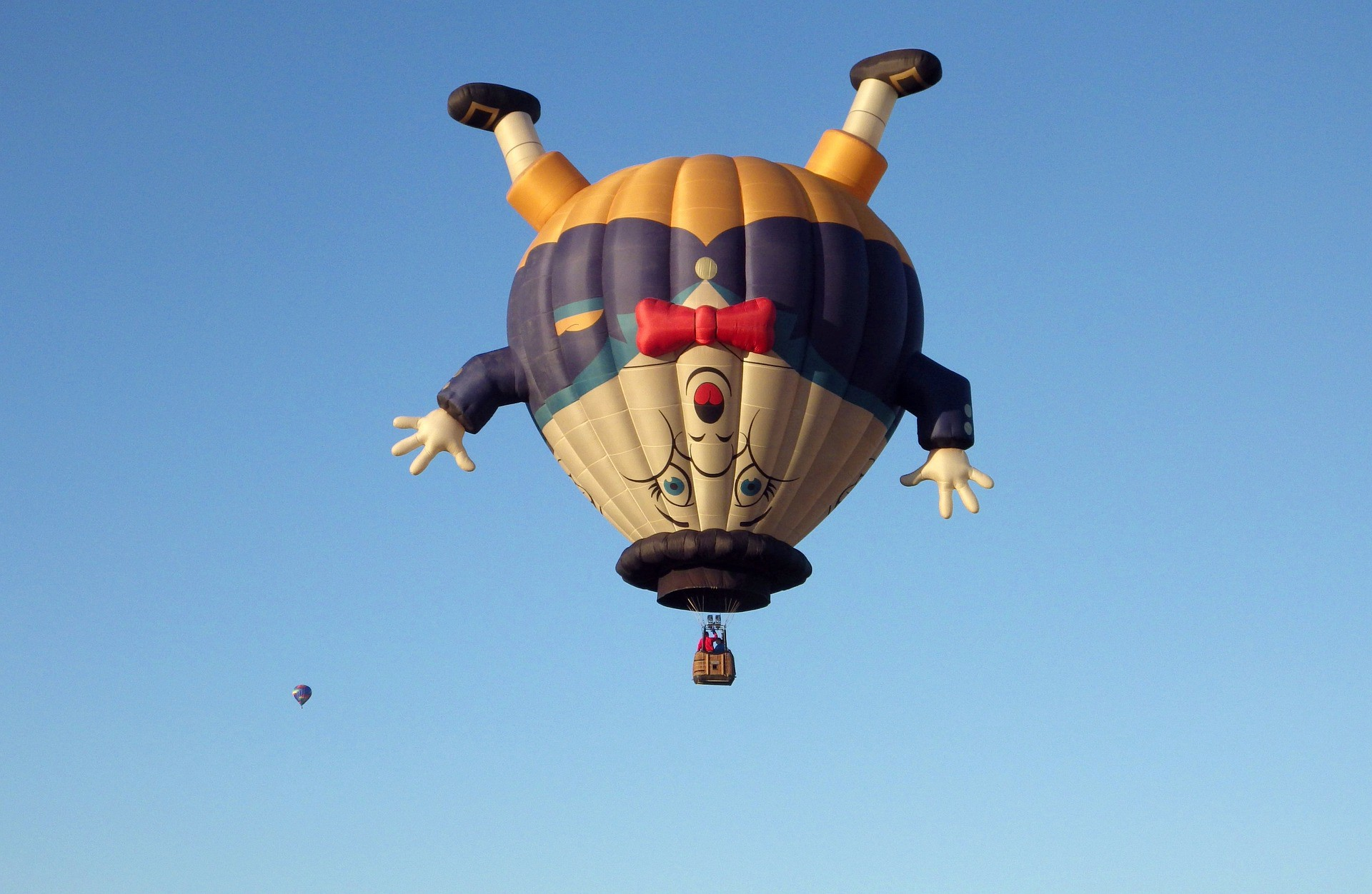 Humpty Dumpty hot-air balloon.