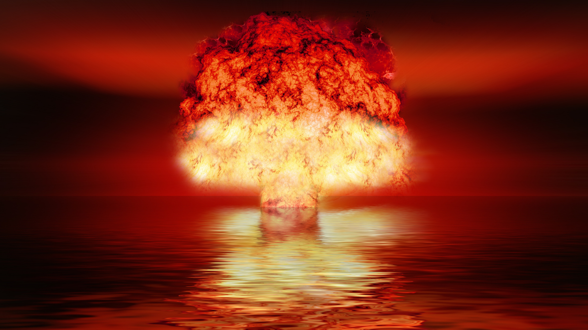 huge chaotic nuclear explosion aka the writing process