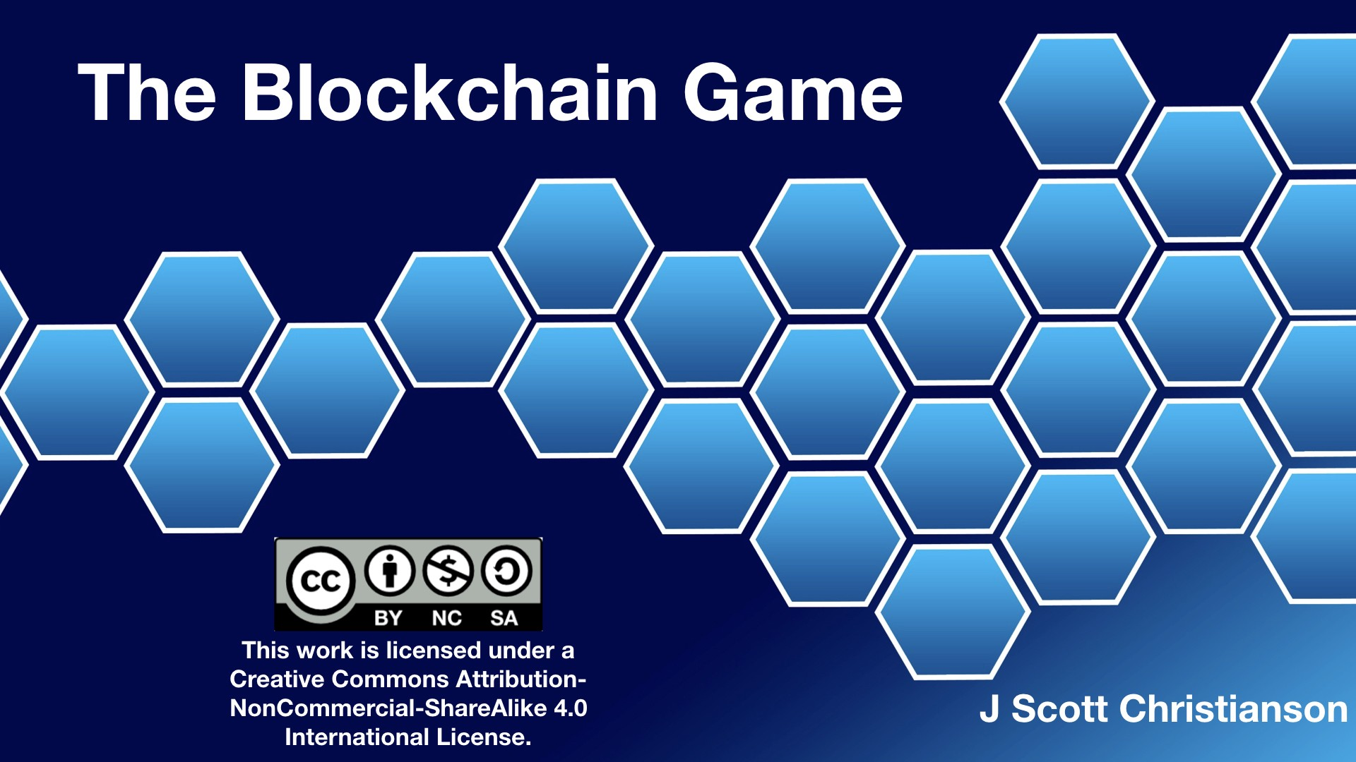 The Blockchain Game: A hands-on exercise for teaching