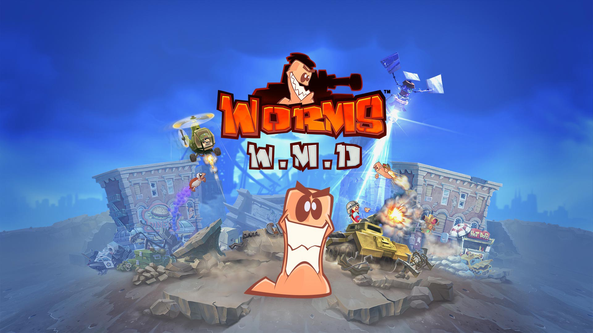 An image of the Worms W.M.D logo.