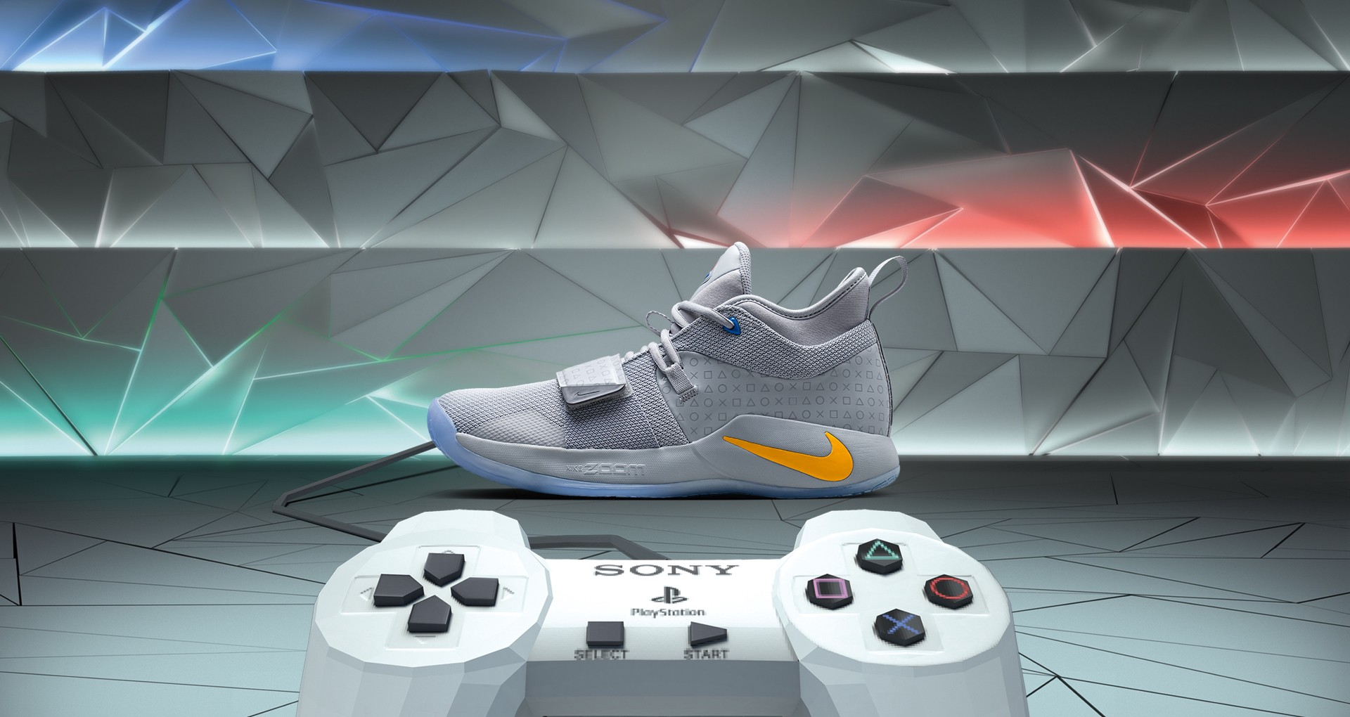 low cost a0db9 38fe4 PlayStation teams up with Paul George again for limited run ...