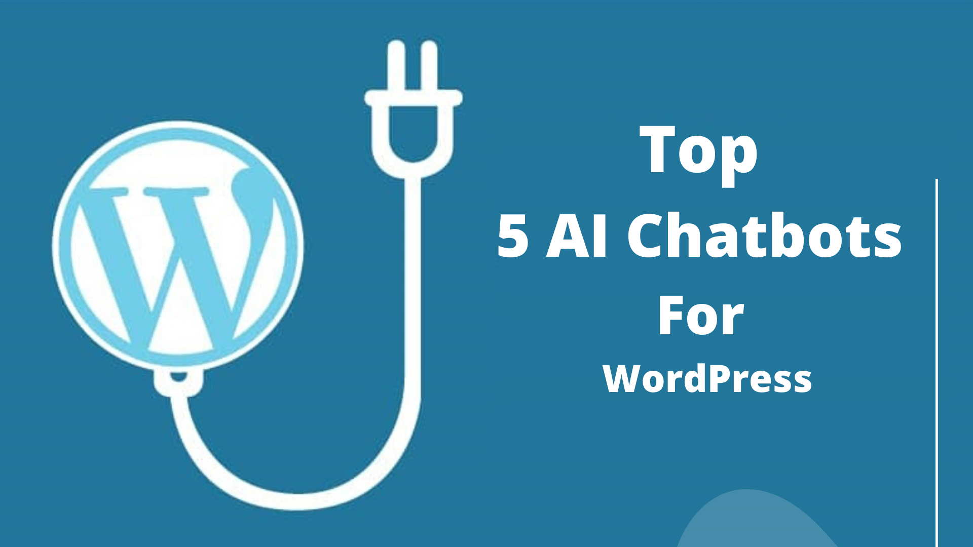 Top 5 AI Chatbots for WordPress. There are an estimated 75 million… | by  IntelliTicks | Chatbots Life
