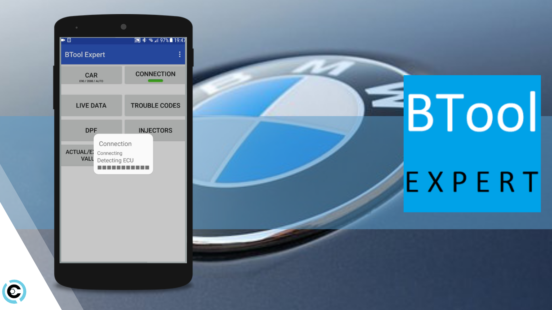 B Tool Expert recommends the Carista OBD2 adapter for Bluetooth