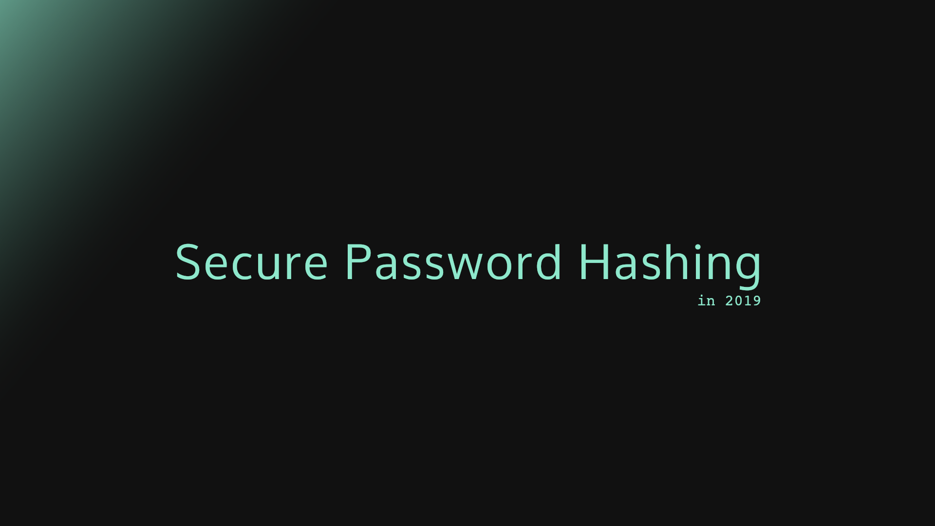 Password Hashing: Scrypt, Bcrypt and ARGON2 - Michele