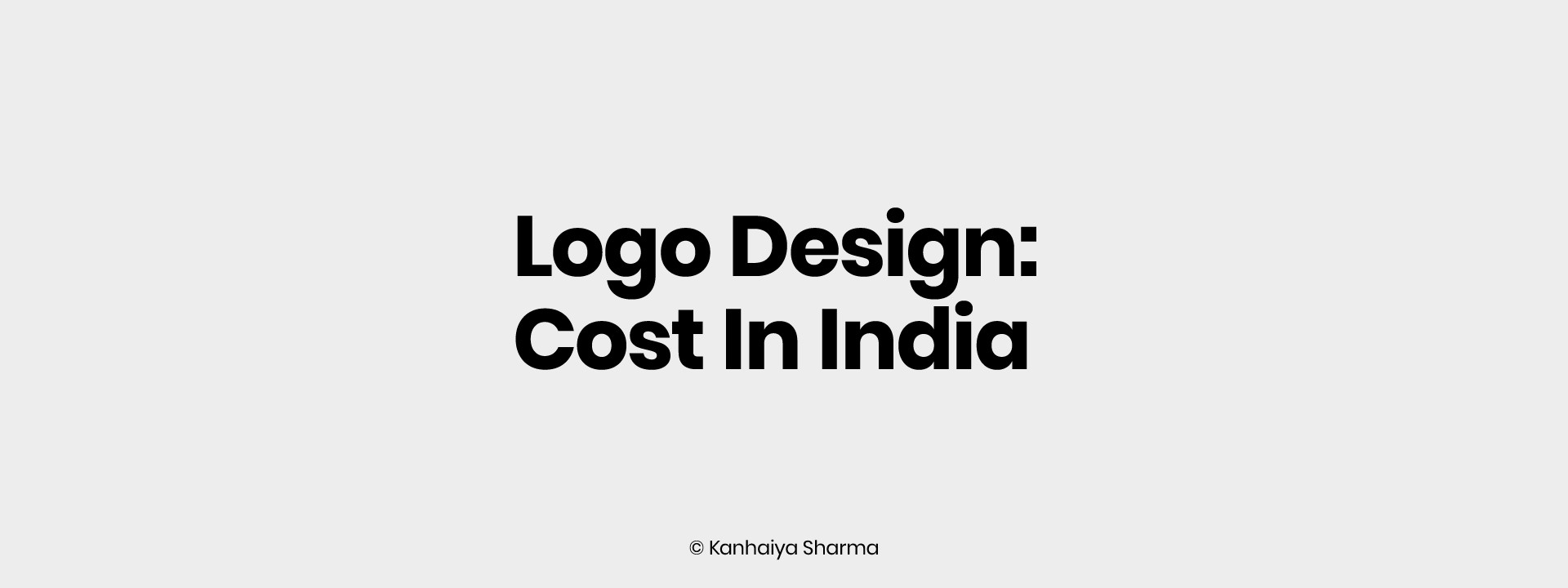 Logo Design Cost In India Expained Medium