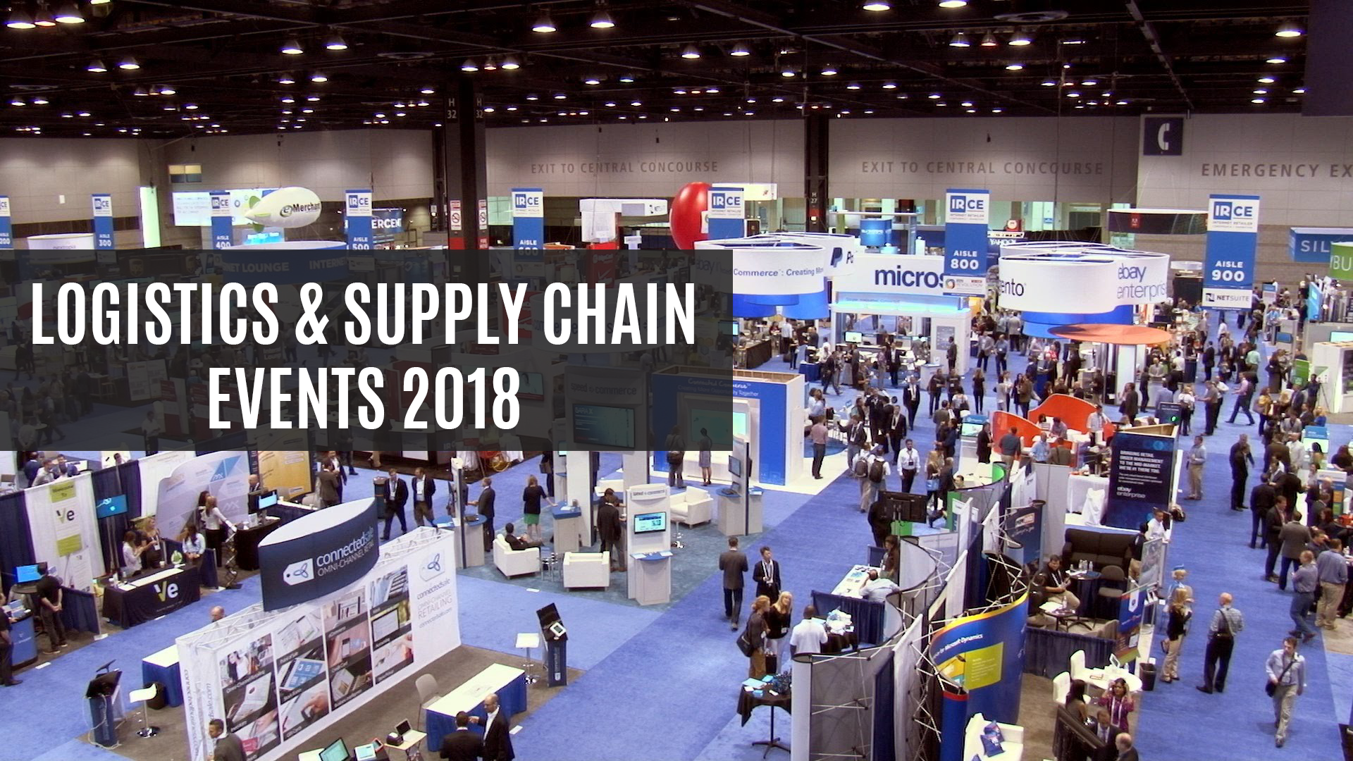 Best Logistics & Supply Chain Shows To Attend In 2018