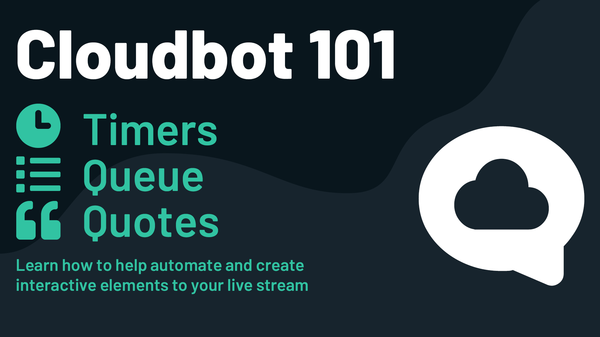 how to use timers queue and quotes in streamlabs obs cloudbot