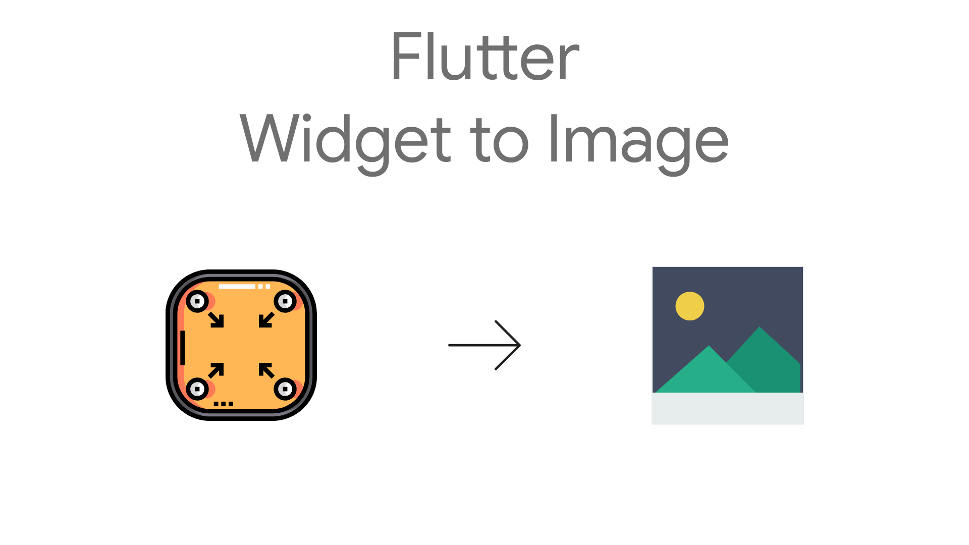 Export your widget to image with flutter - Flutter Community - Medium