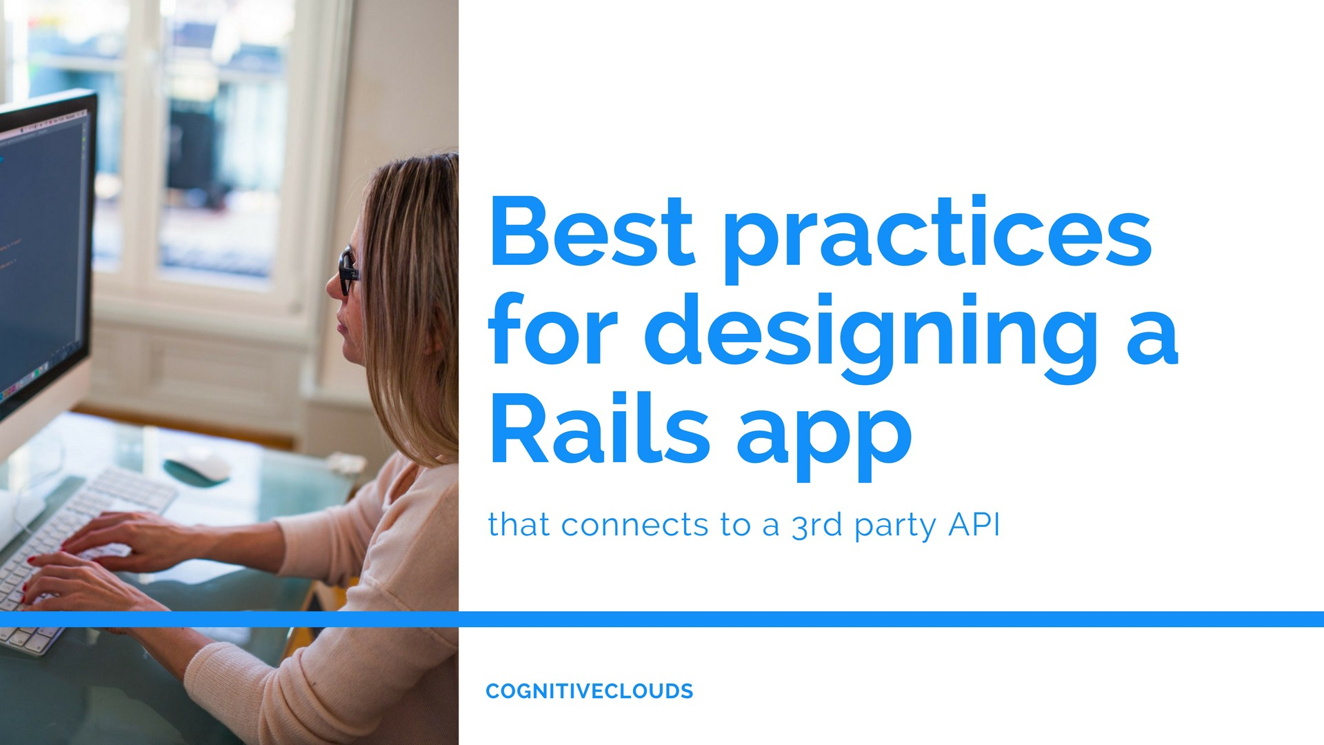 Best practices for designing a Rails app that connects to a 3rd