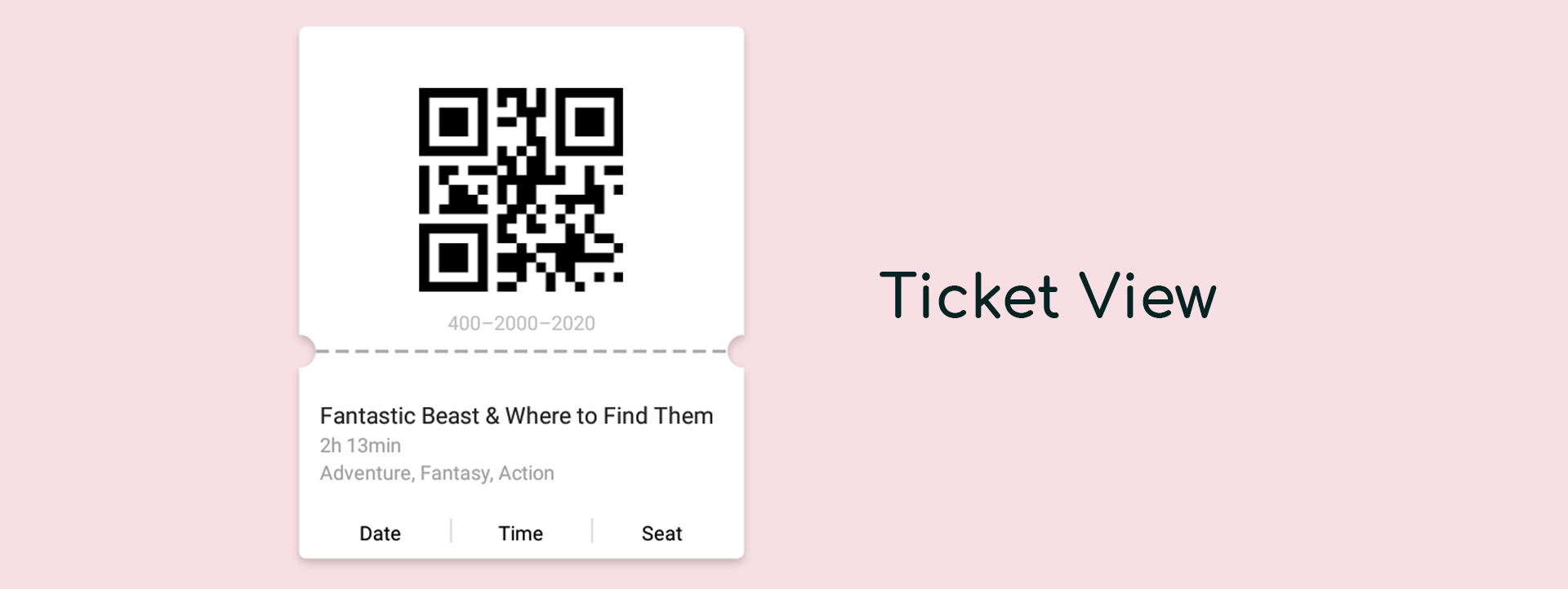 How I made Ticket View — a Custom View for android - AndroidPub