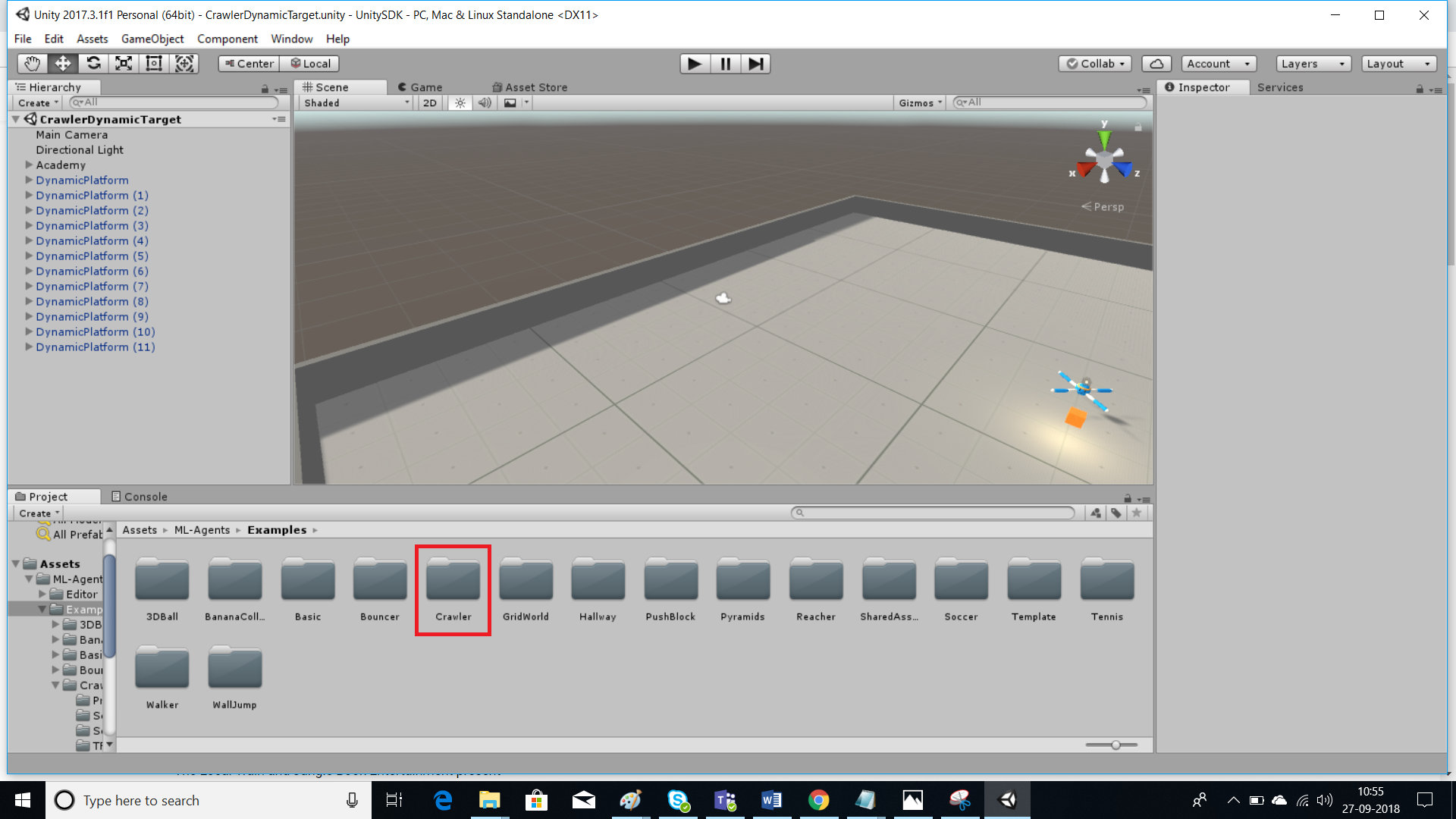 Unity Advanced ML Agents with OpenVINO Toolkit Optimization