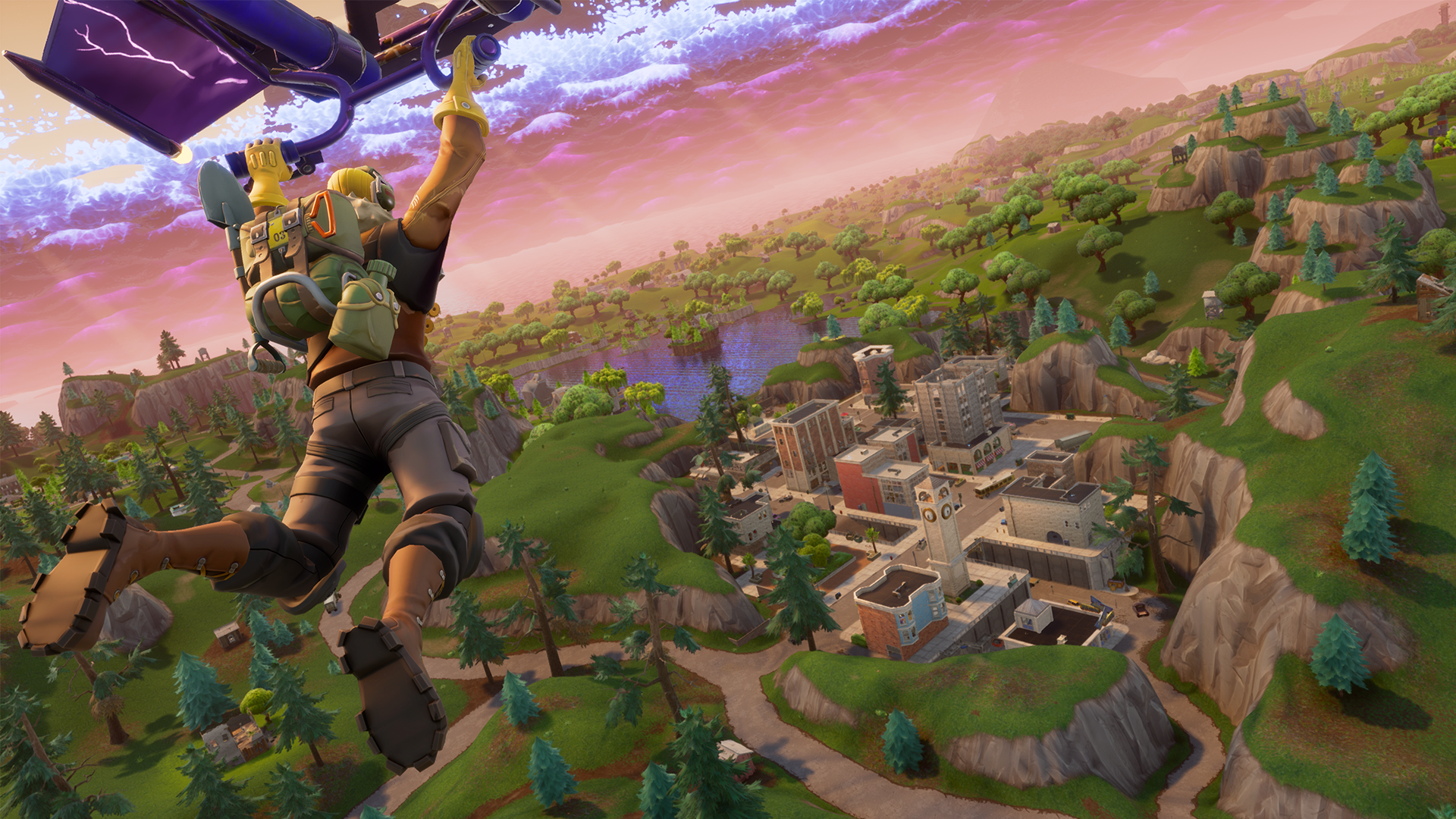 Fortnite for Android will only be available from the game's