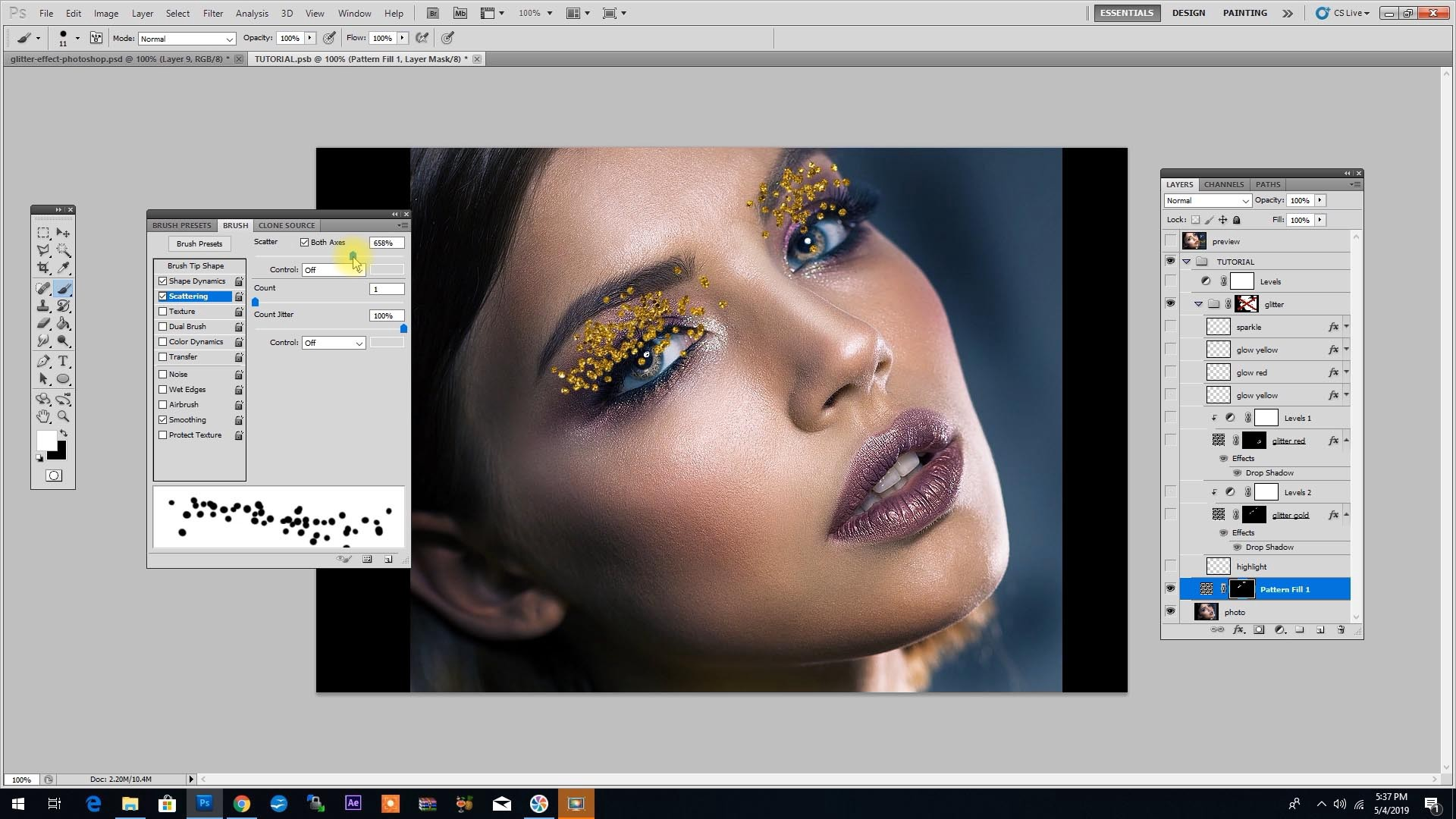 Photoshop Tutorial: Fashion Photo Editing in Under 6 Minutes