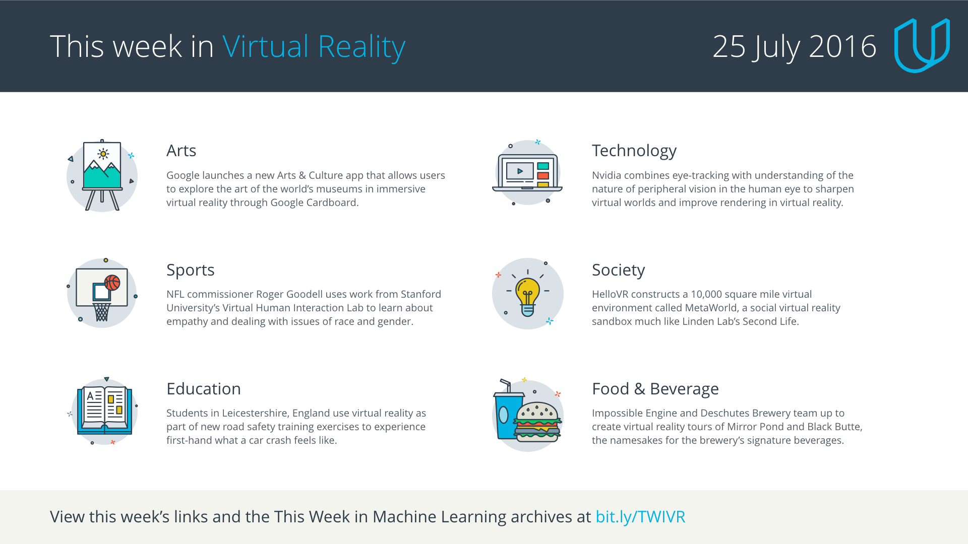 This Week in Virtual Reality, 25 July 2016 - Udacity Inc