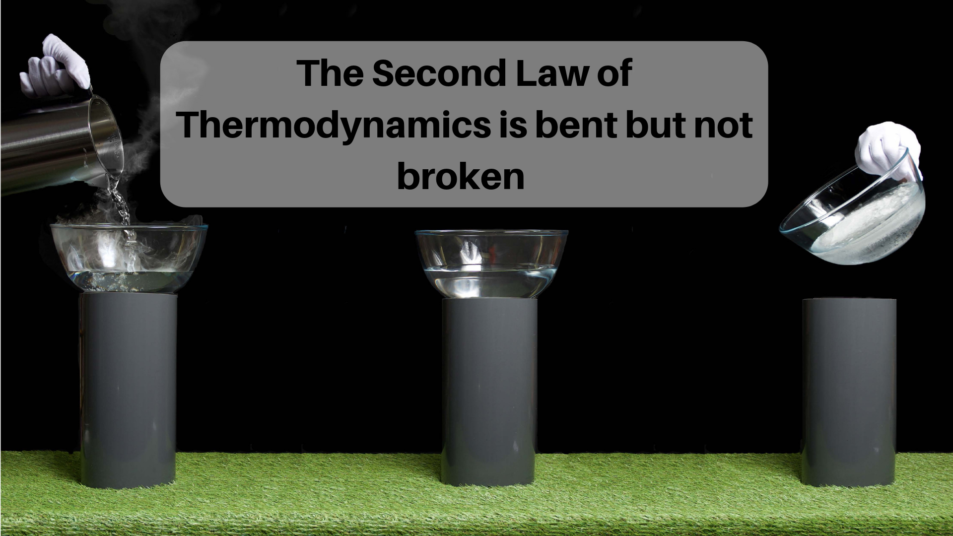 The Second Law of Thermodynamics is bent but not broken