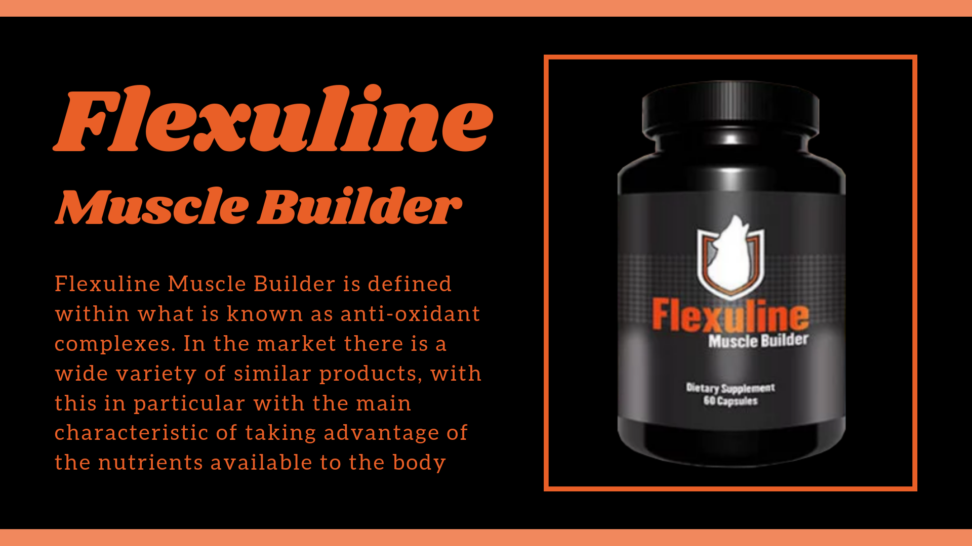 Flexuline Muscle Builder South Africa Review, Scam, Price to Buy