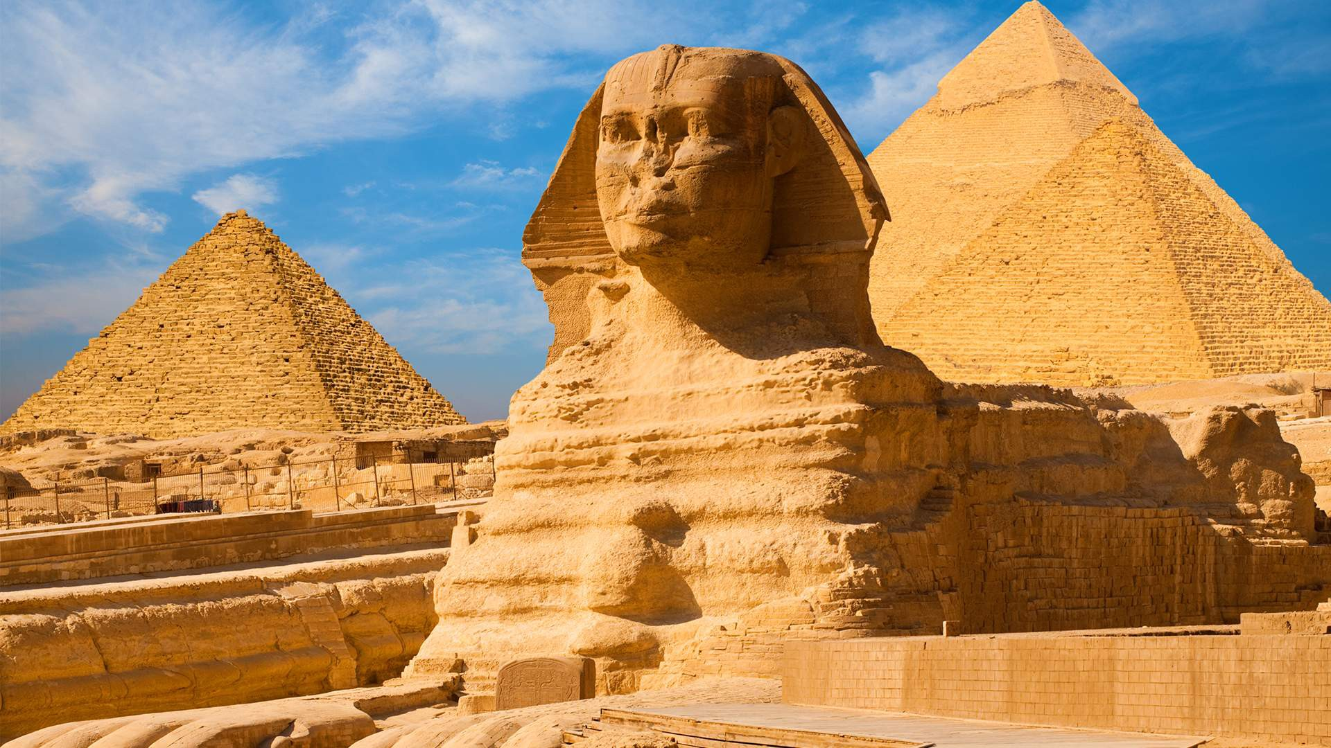 The Sphinx and Great Pyramids. A Postmodern History | by Joshua ...