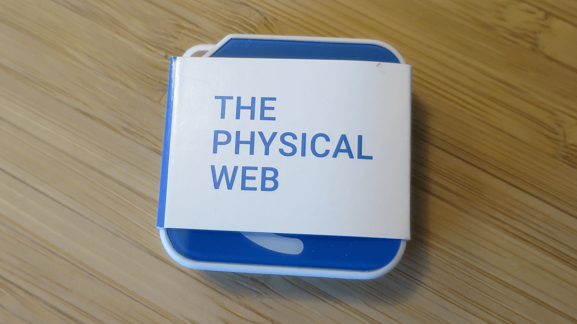 What's inside a (Google) Physical Web BLE beacon? - Pearl