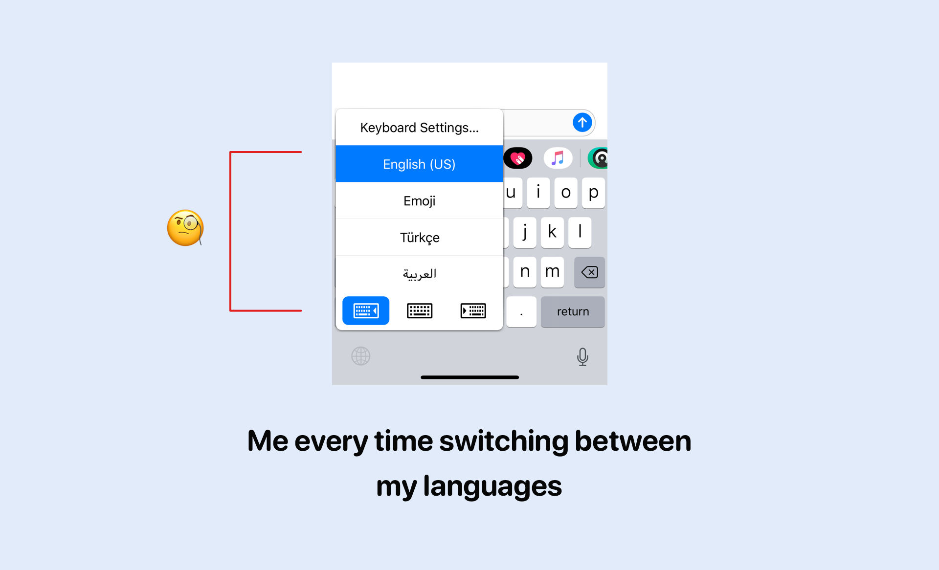 How we can improve emoji typing in iPhone X keyboard — a UX