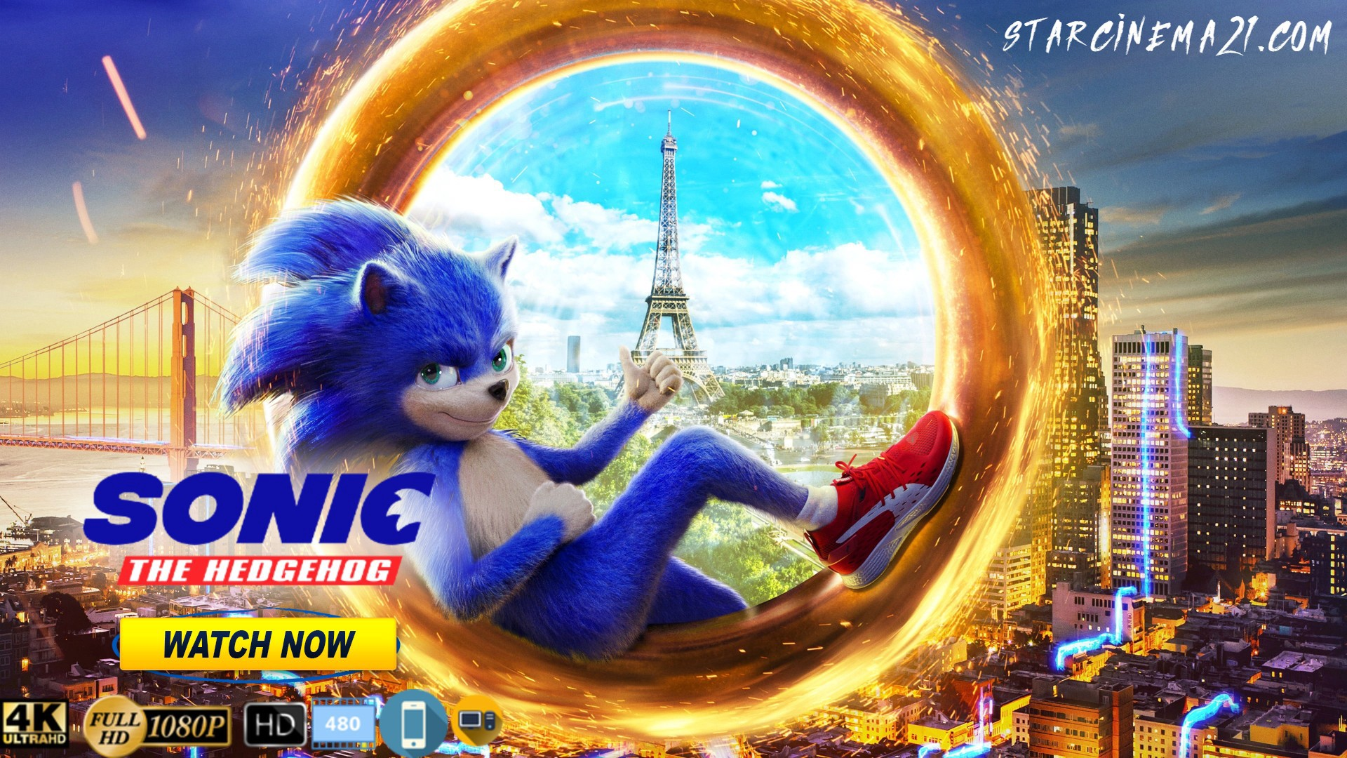 Watch Movies Full Sonic The Hedgehog 2020 Free Online By