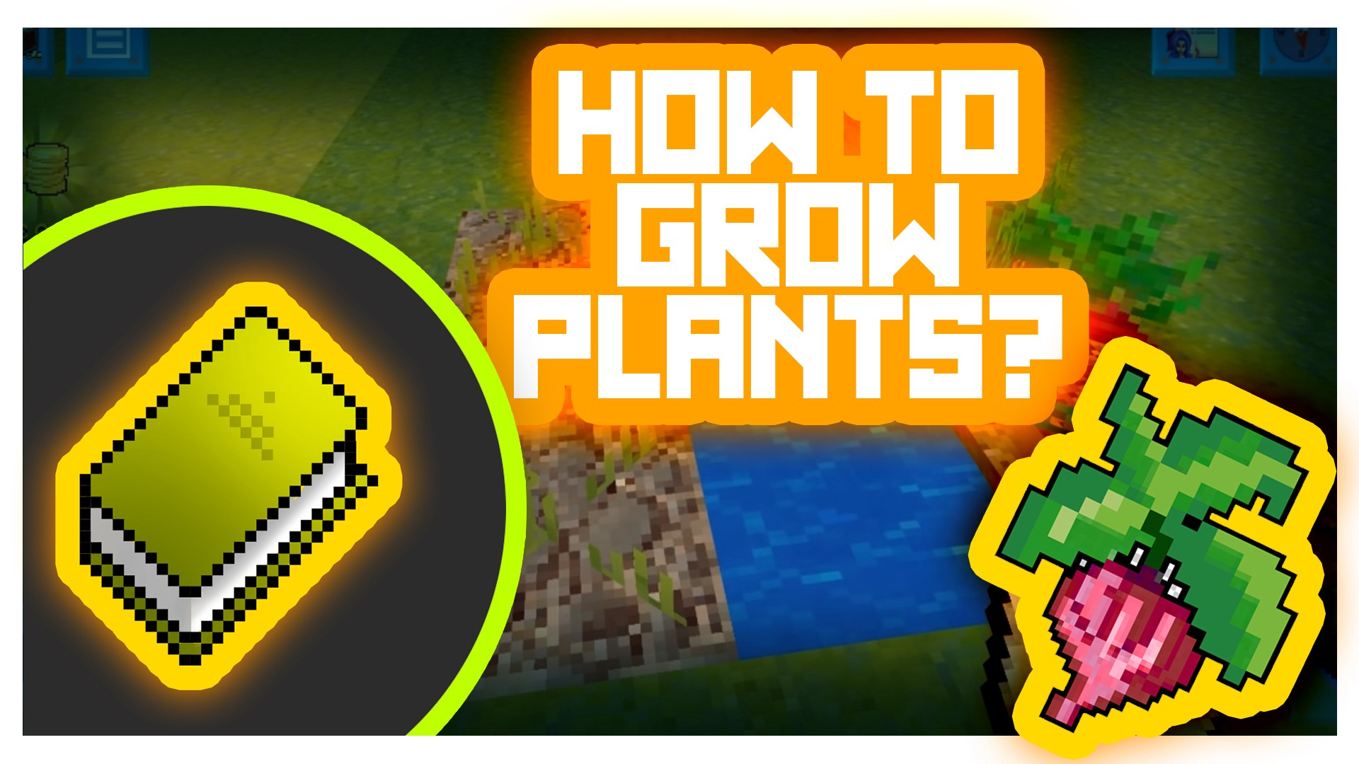 Tutorial How To Grow Plants In Realmcraft Game Realmcraft Game