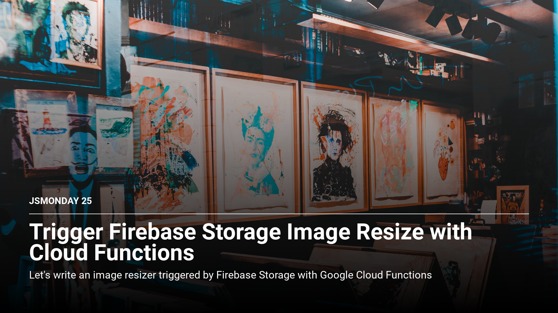 Trigger Firebase Storage Image Resize with Cloud Functions