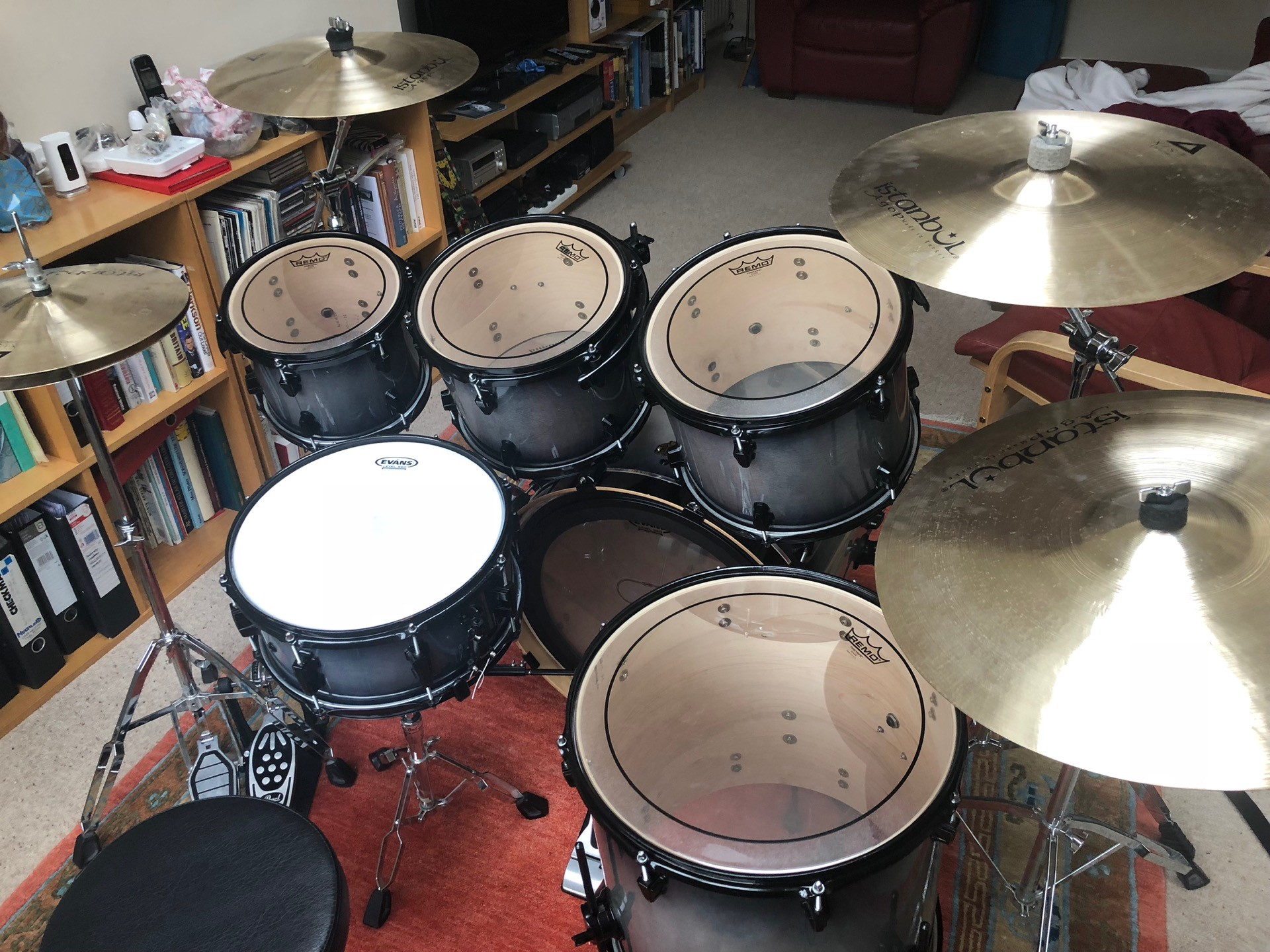 How To Clean Up An Old Drum Kit On A Budget - SebDrums - Medium
