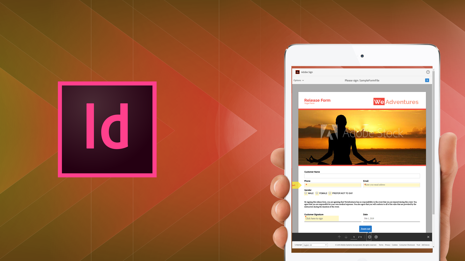 Use Adobe InDesign and Adobe Sign to Streamline Your Forms