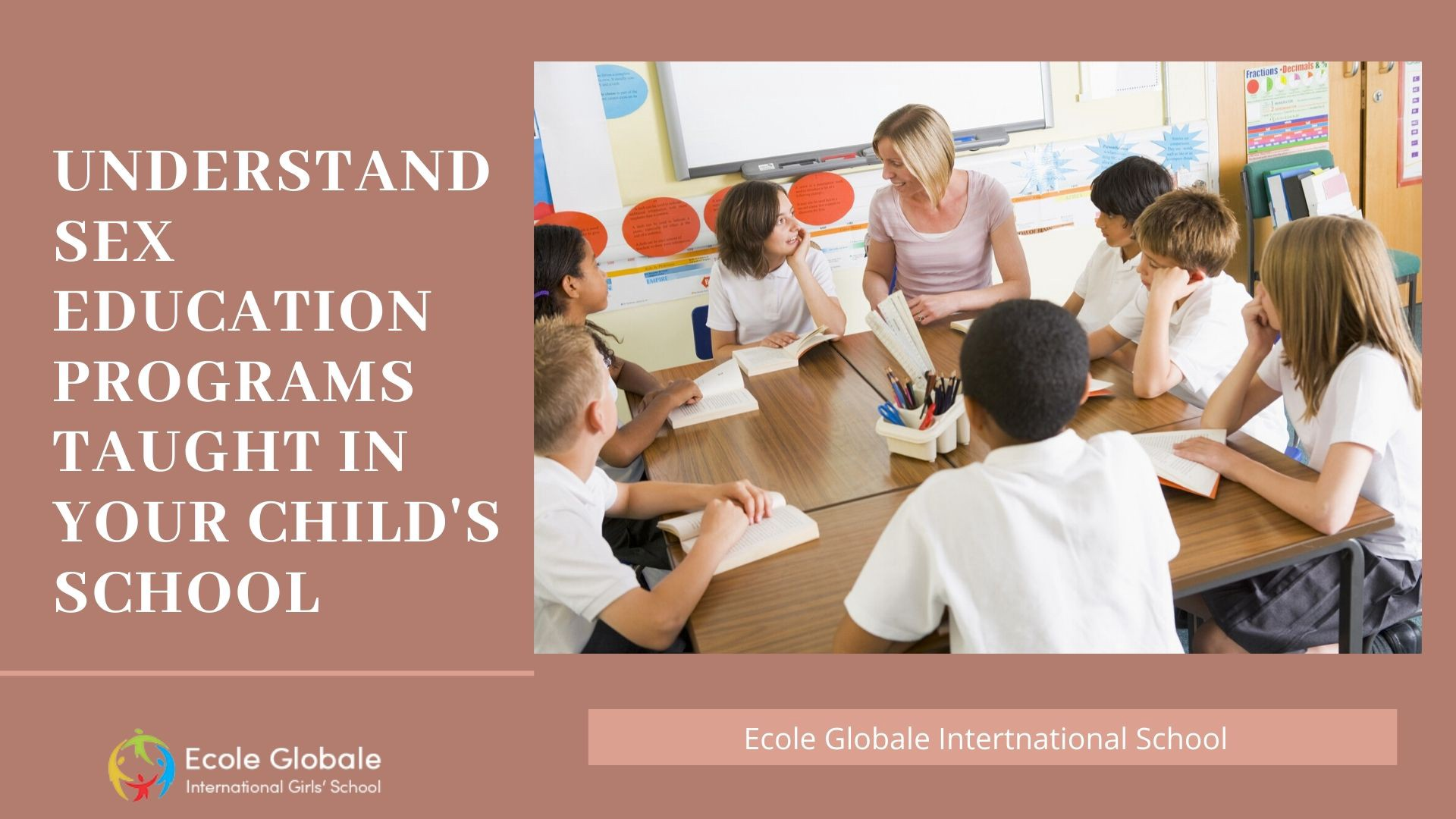 Understand Sex Education Programs Taught In Your Child S School By Ecole Globale Medium