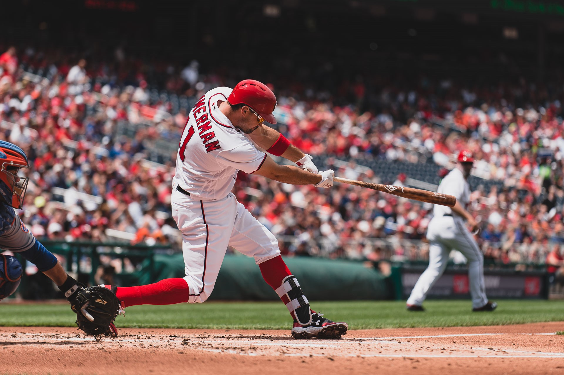 Nationals 1b Ryan Zimmerman Named Nl Player Of The Week