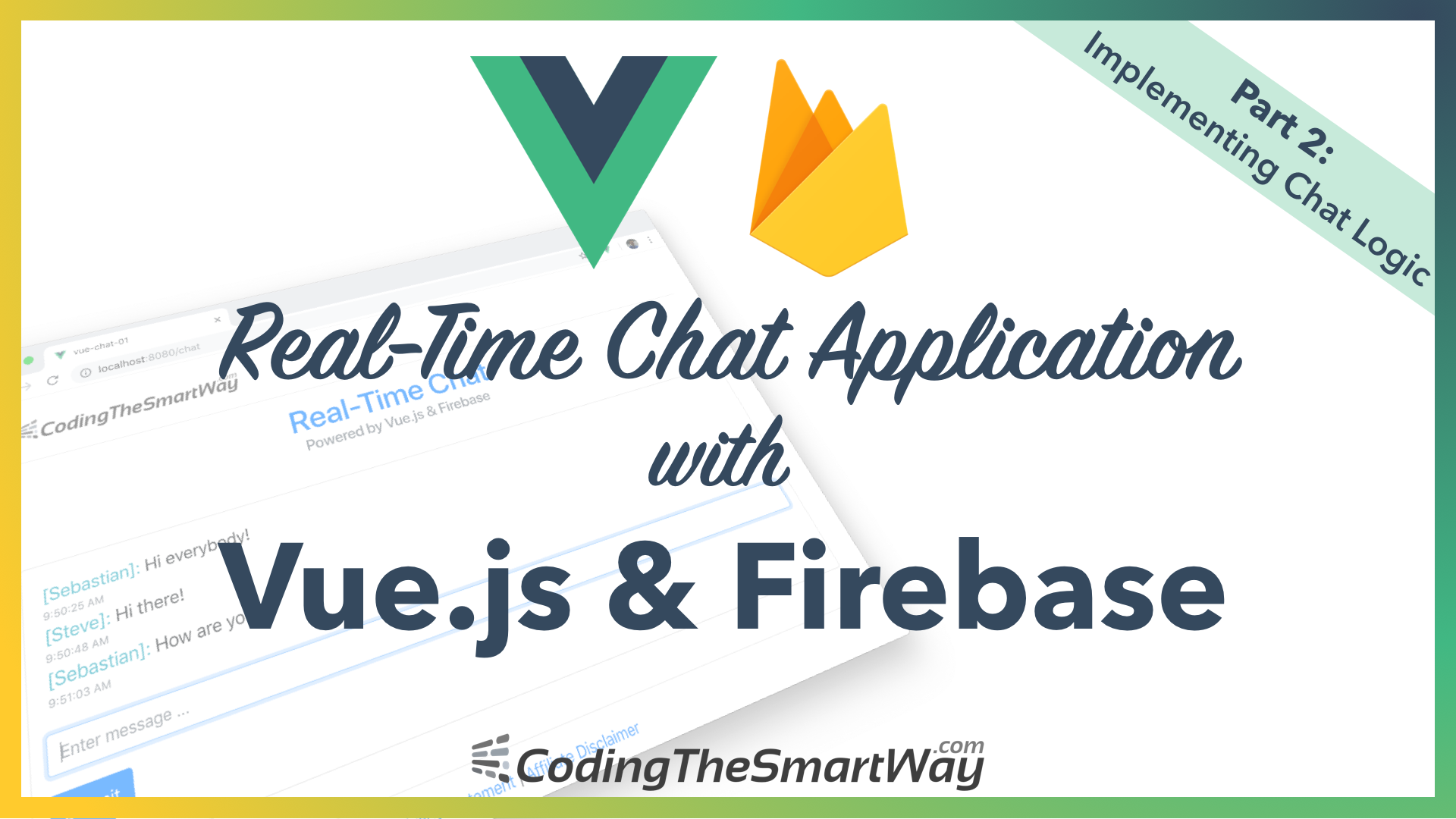 Building A Real-Time Chat Application With Vue js and