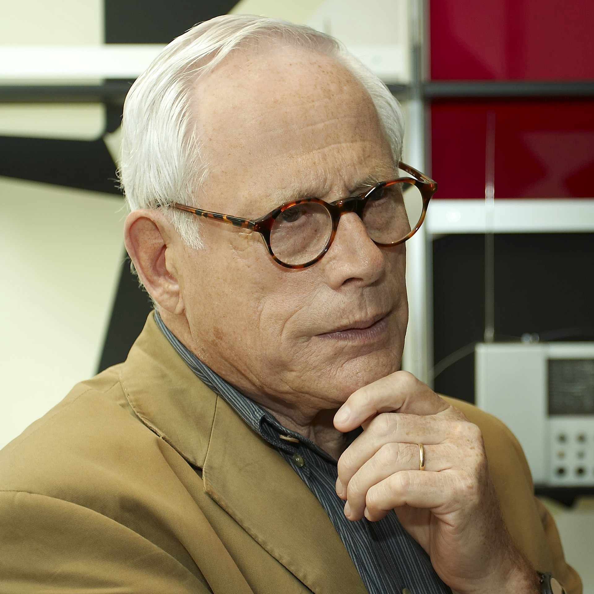 """A portrait of Dieter Rams, the industrial designer at Braun, whose """"10 Principles of Good Design"""" can inform our practice"""