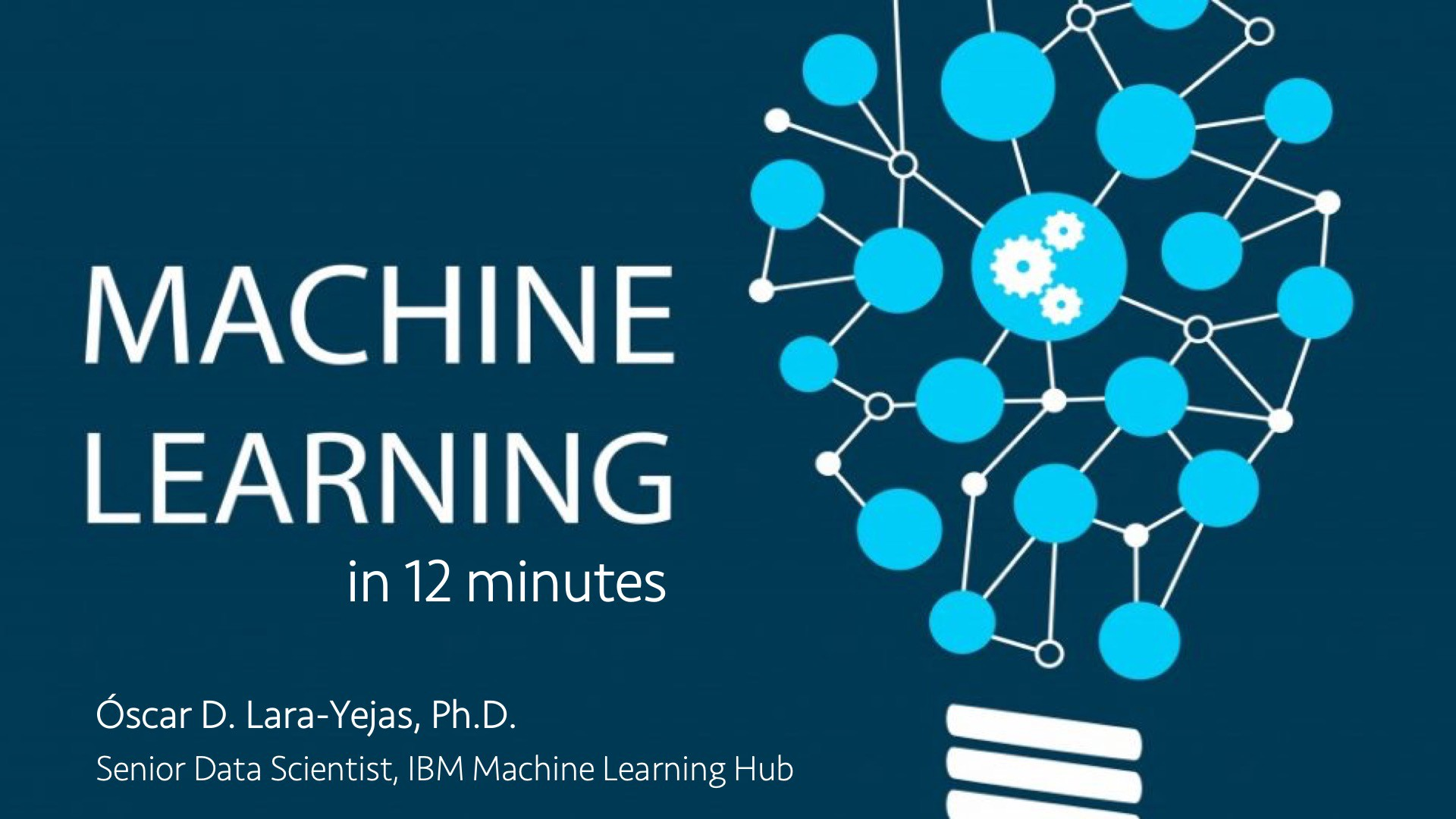 Machine Learning Explained in 12 minutes - Towards Data Science