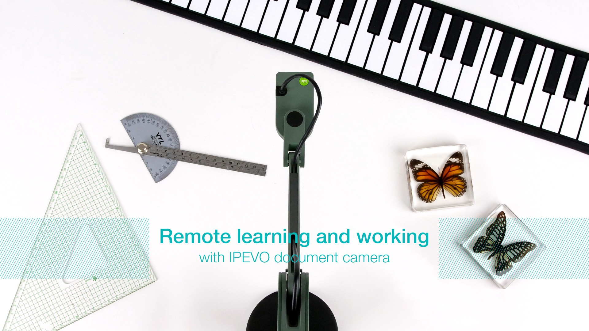 How the IPEVO document camera improves remote learning and working