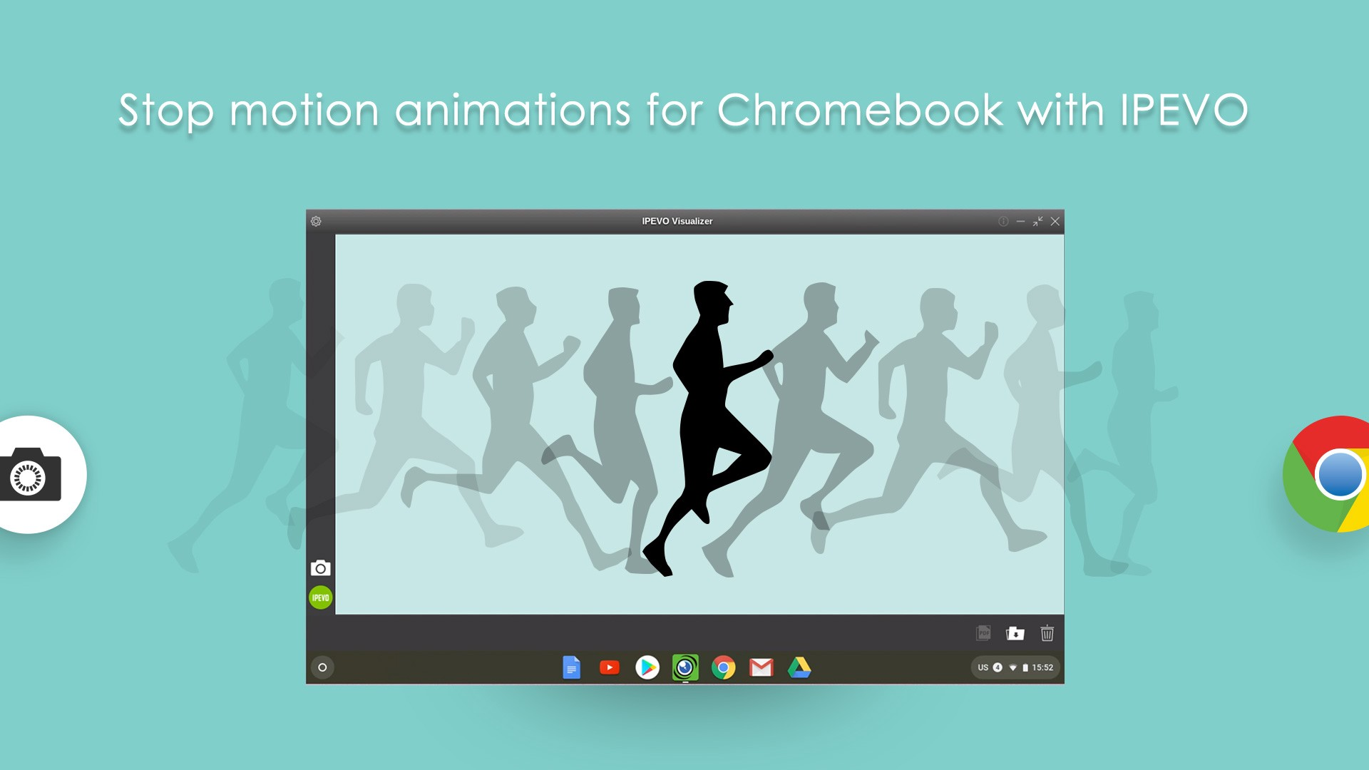 IPEVO Visualizer for Chromebook — Making stop motion animations