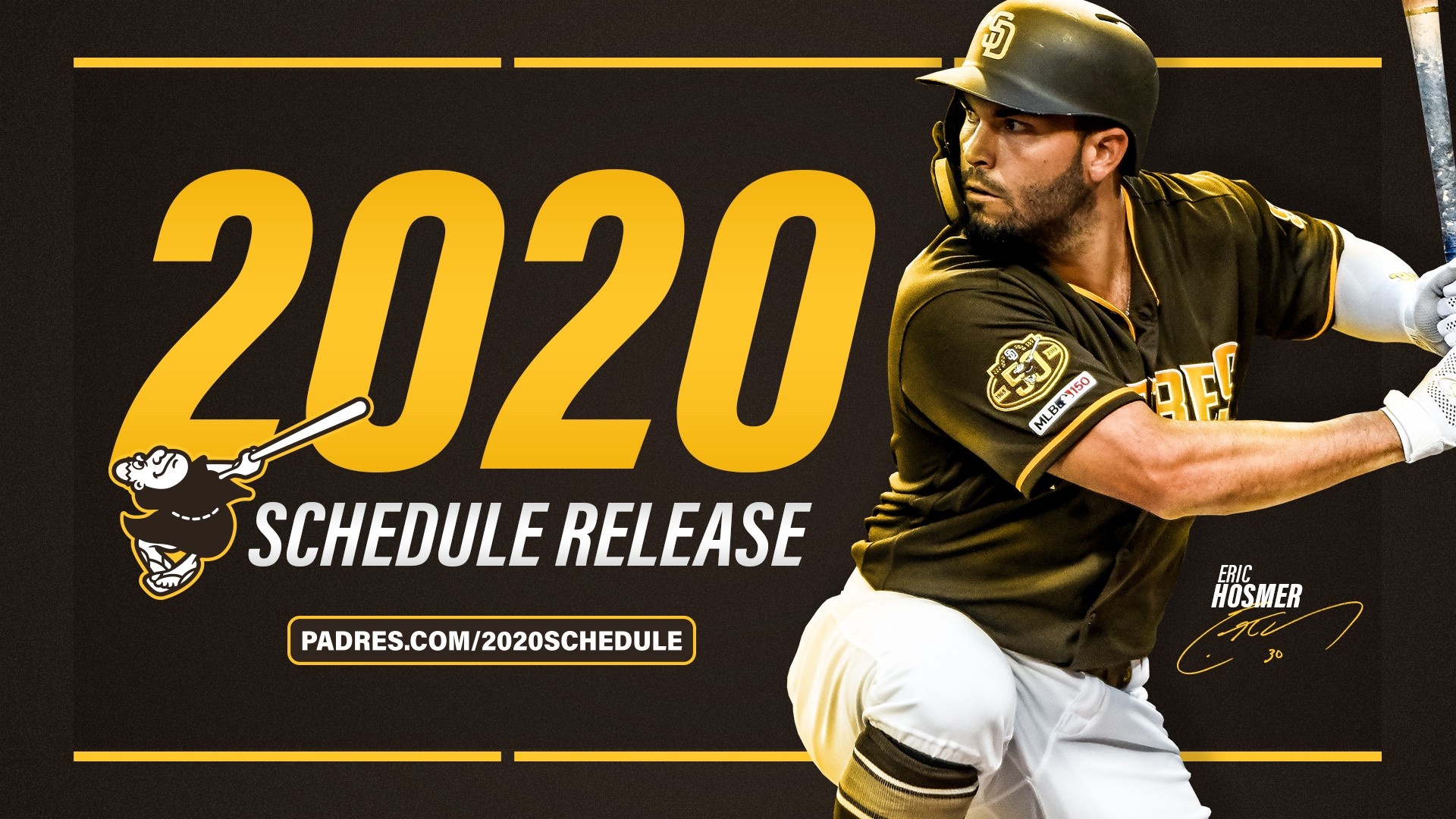 graphic about Cleveland Indians Printable Schedule identified as San Diego Padres Launch 2020 Plan - FriarWire