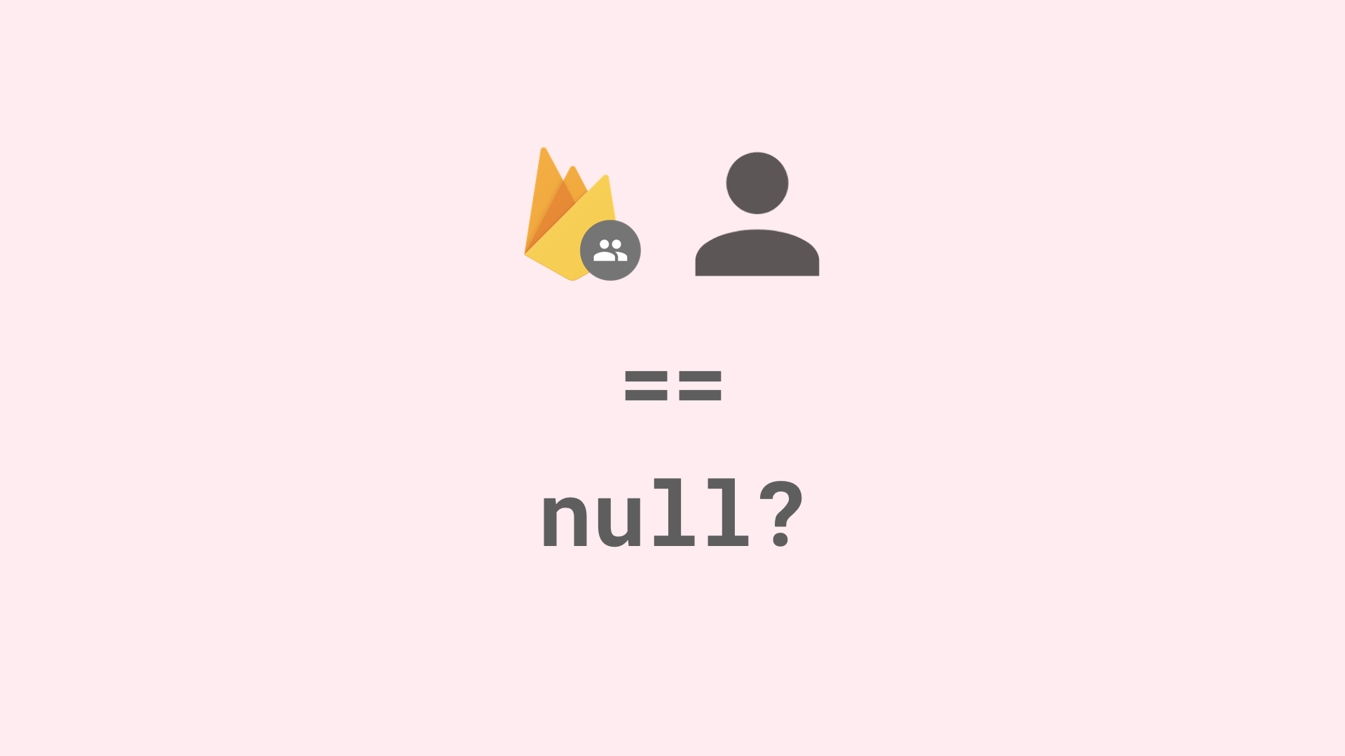 Why is my current user equal to null?