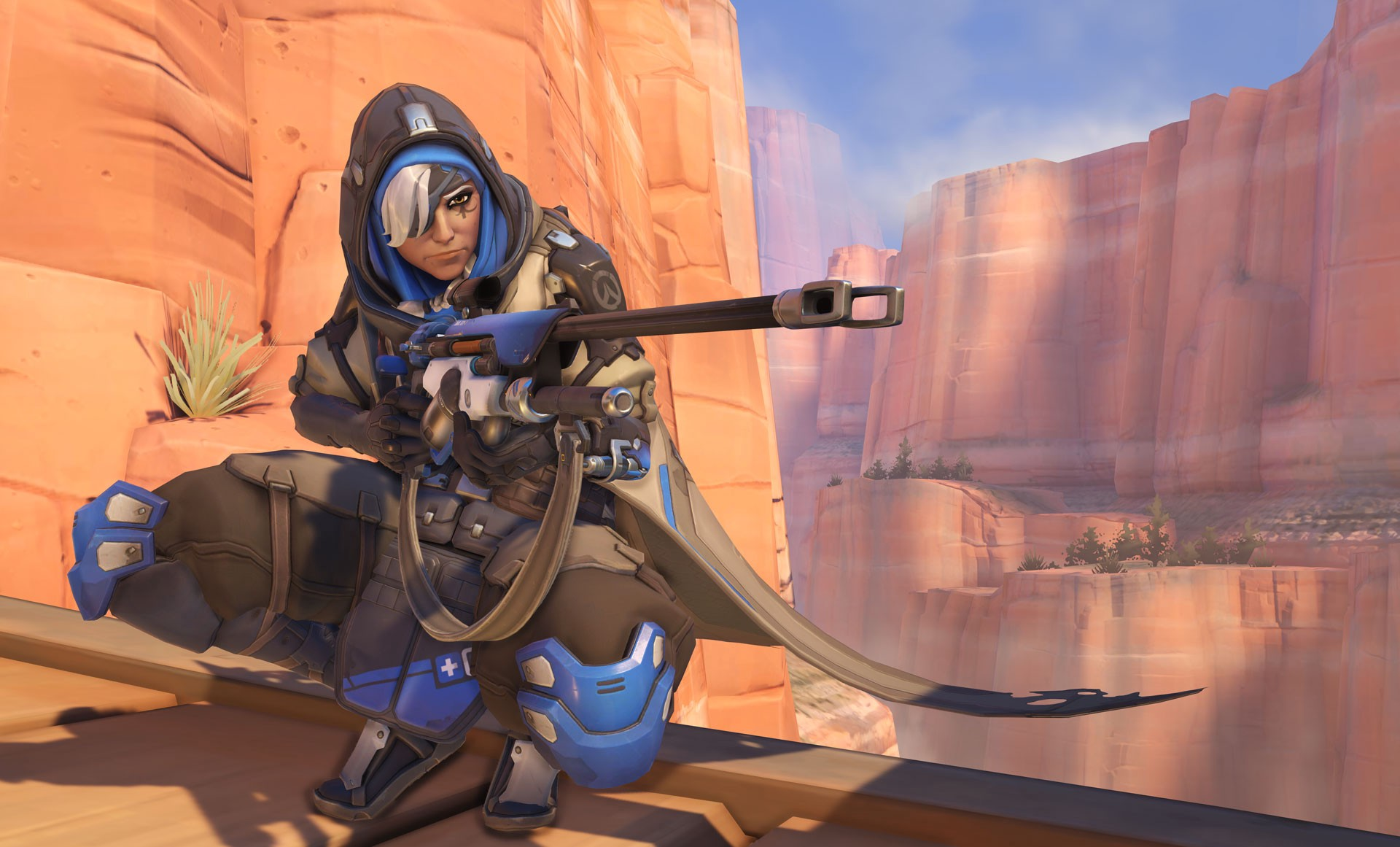 Overwatch: Ana to Receive Friendly Aim Assist on Console in