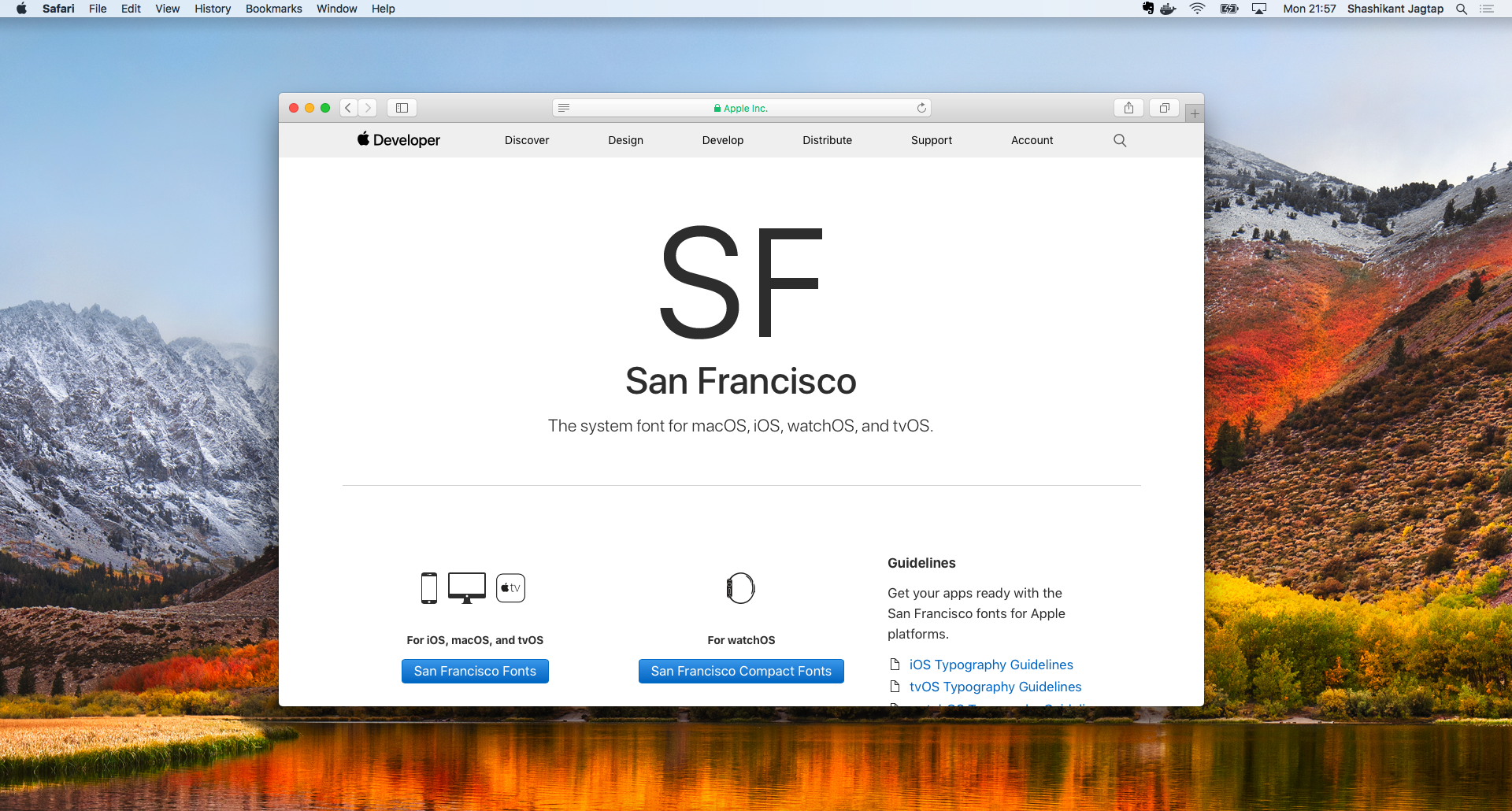 Getting Apple's SF Mono Font in macOS - Shashikant Jagtap
