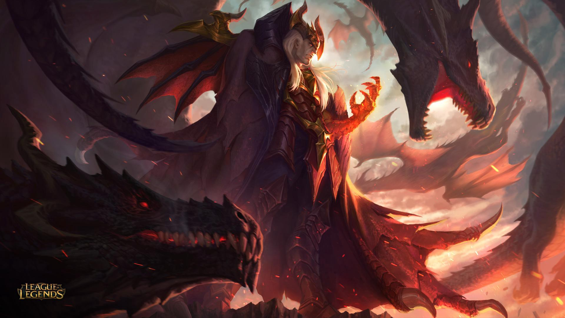 League Of Legends Dragon Master Swain Now Available