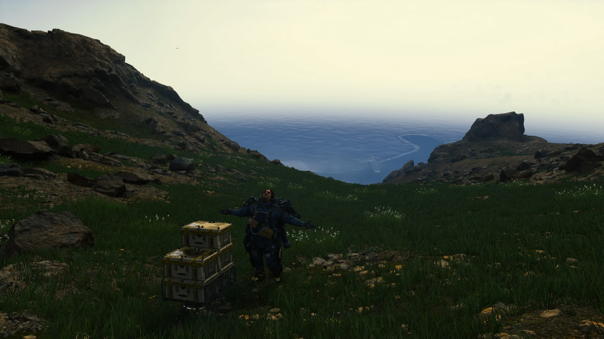 Screenshot from Death Stranding video game