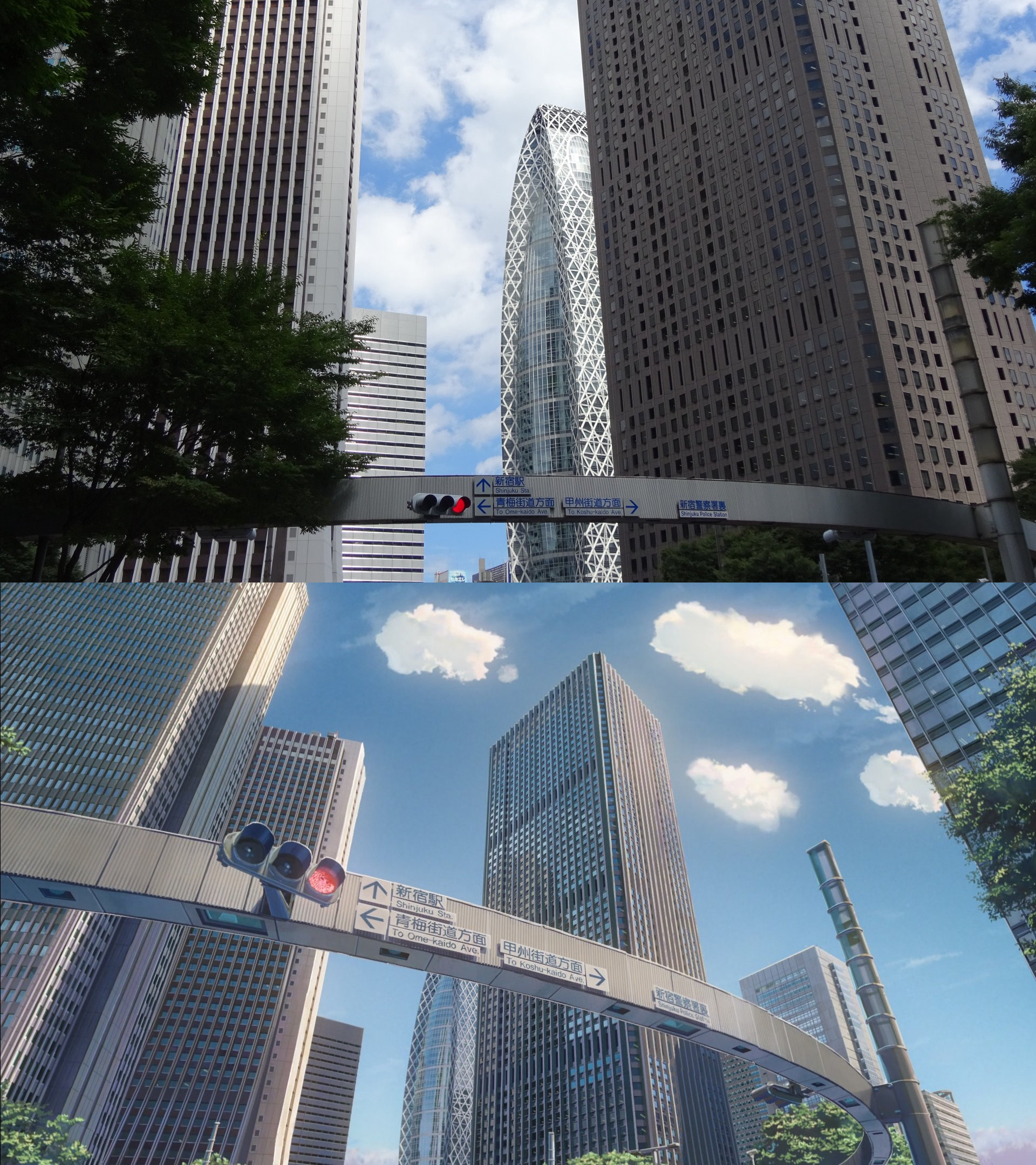 I Visited Real Life Locations From Kimi No Na Wa Seichi Junrei Tokyo Side By Crean Medium