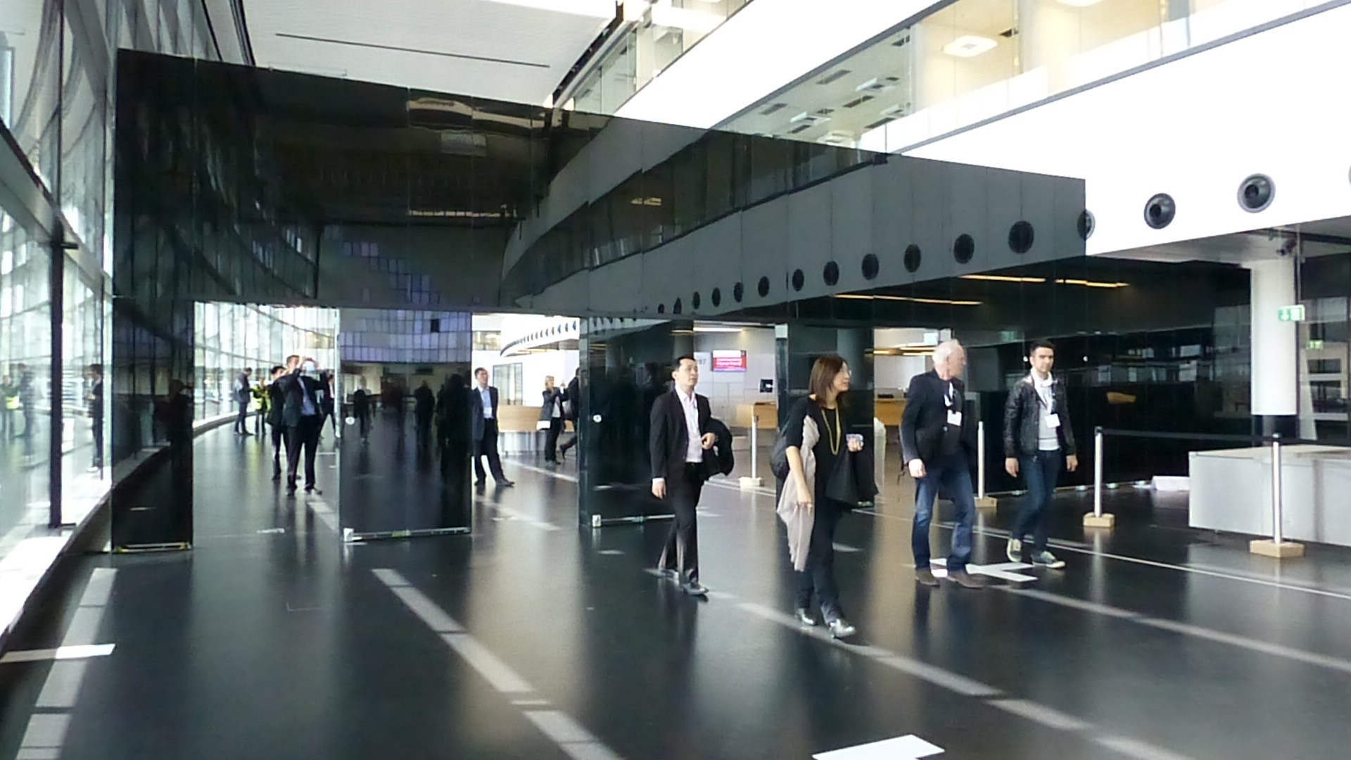Behind the scenes tour of Vienna Airport in 2012, prior to the opening of the new International Terminal
