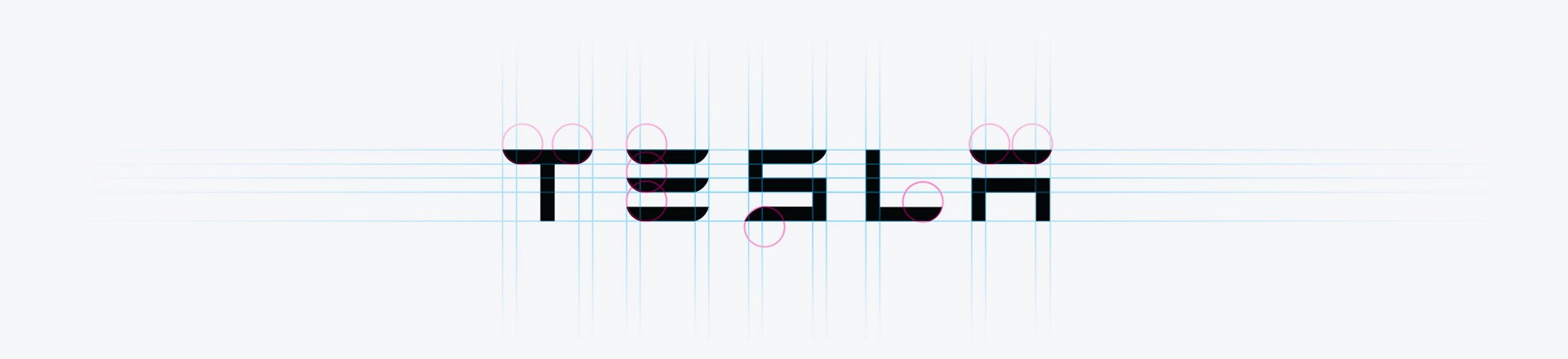 Logos of Elon Musk's Brands: Tesla, SpaceX and The Boring