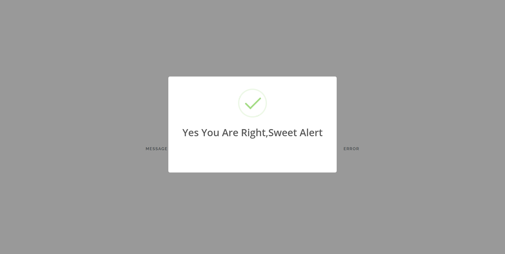 How to Implement Sweet Alert in Laravel Application