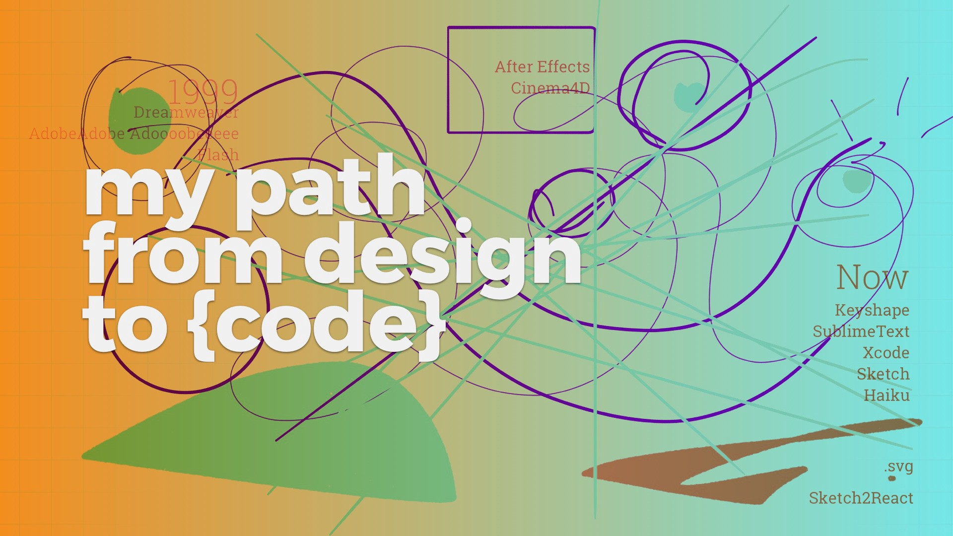 🛣 My path from design to {code} - Design + Sketch - Medium