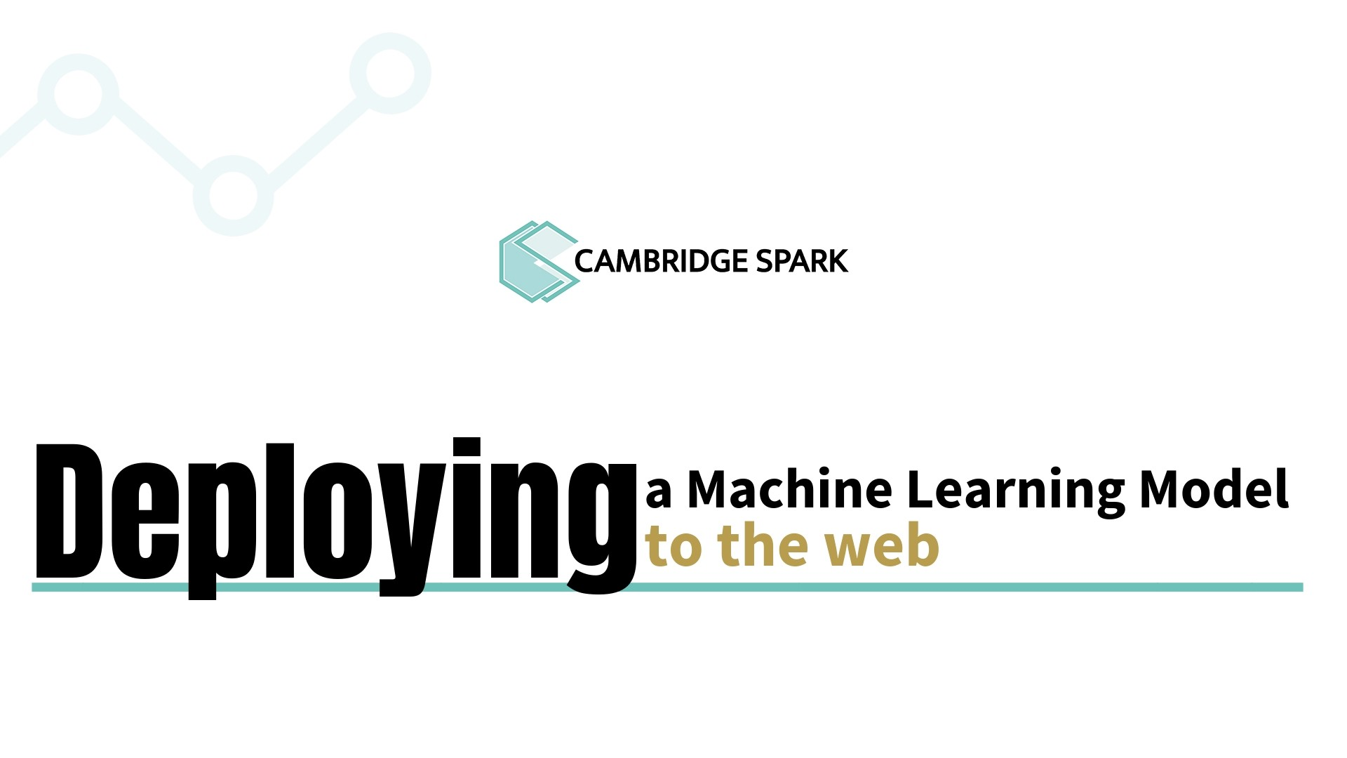 Tutorial: Deploying a machine learning model to the web