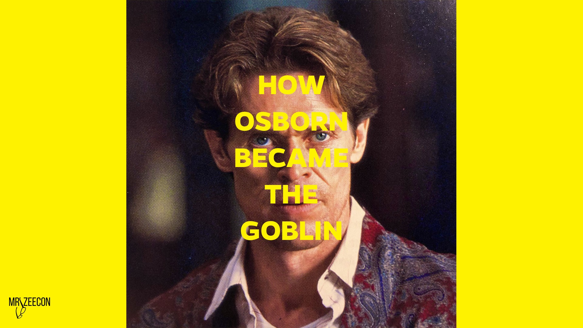 Understand How Norman Osborn became the Green Goblin (writing a character)